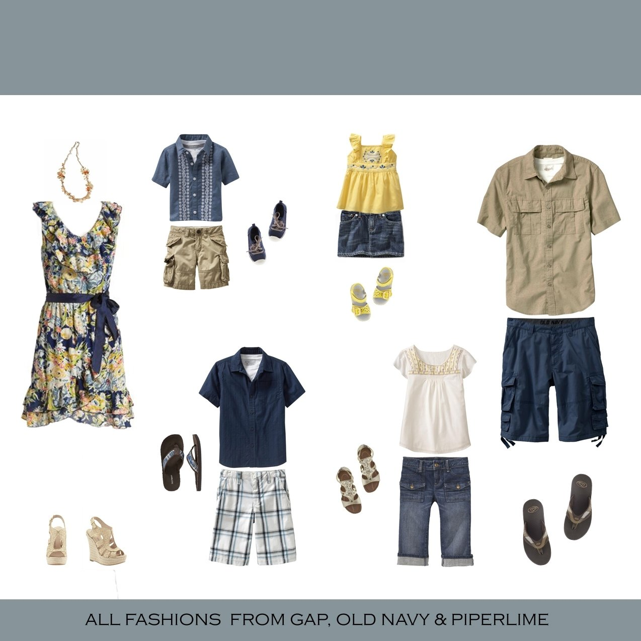 10 Cute Summer Family Photo Clothing Ideas what to wear for a photoshoot katerina fort photography and design 2020