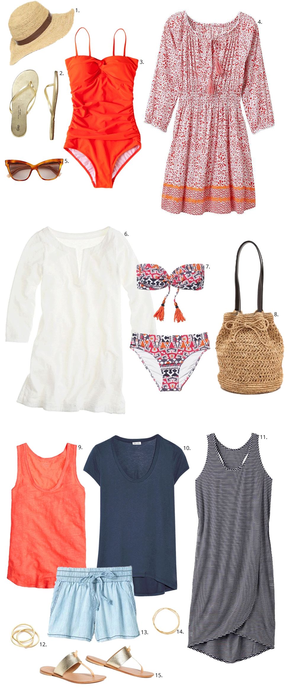 10 Awesome Labor Day Weekend Trip Ideas what to wear for your labor day weekend at the beach outfituation 2020