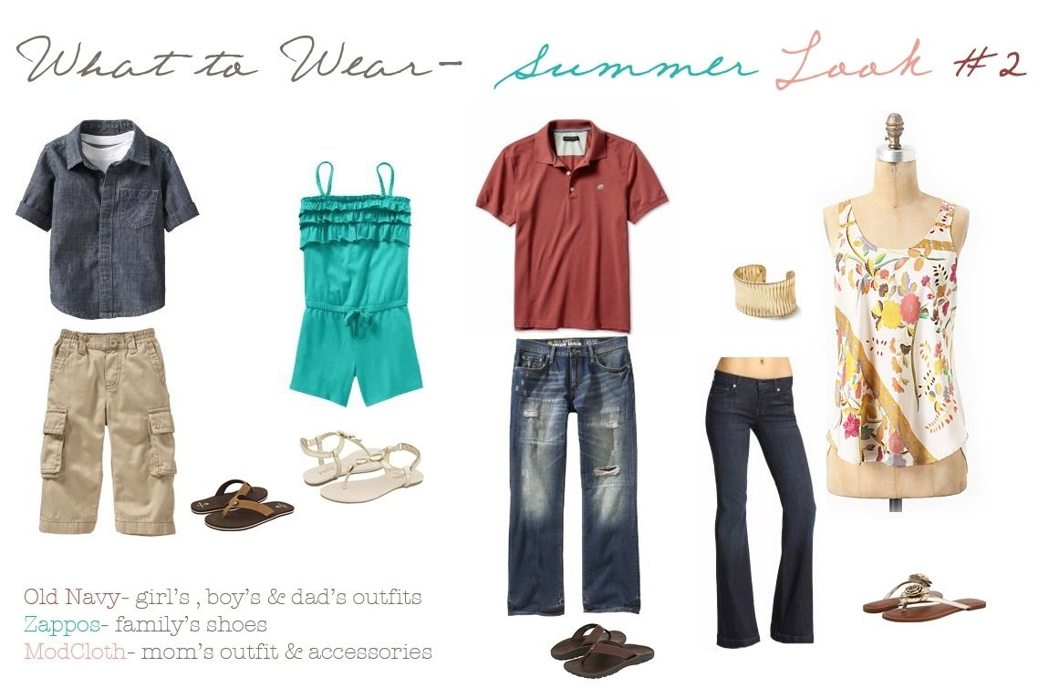 10 Cute Summer Family Photo Clothing Ideas what to wear summer ideas to beat this oklahoma heat 1 2020