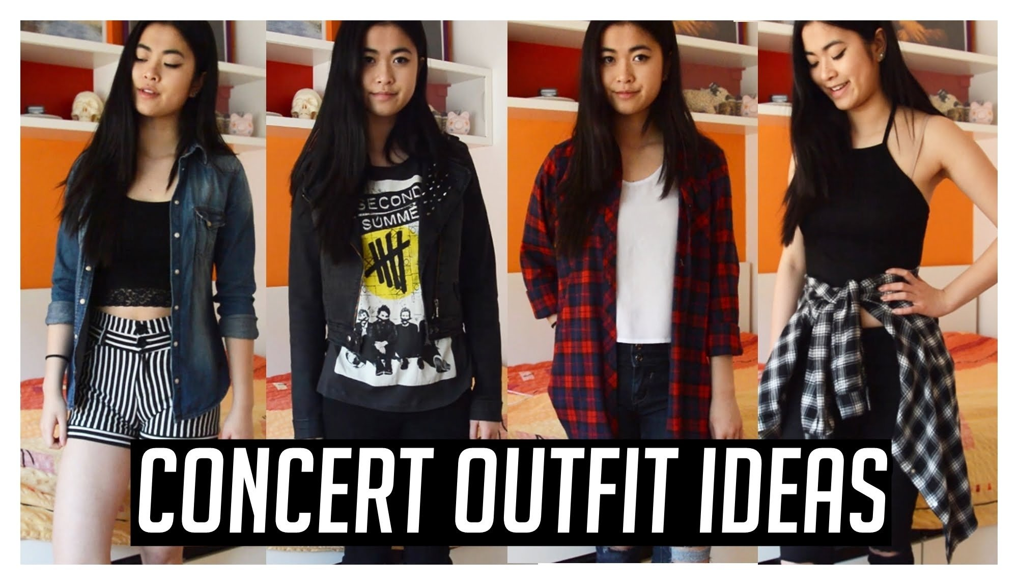 what to wear to a concert ♡ concert/music festival outfits ideas