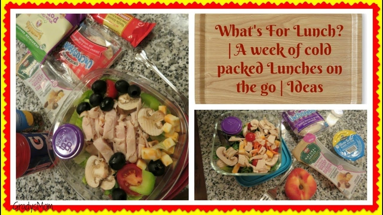 10 Lovable Cold Lunch Ideas For Work whats for lunch cold lunch on the go ideas for work or school 2020