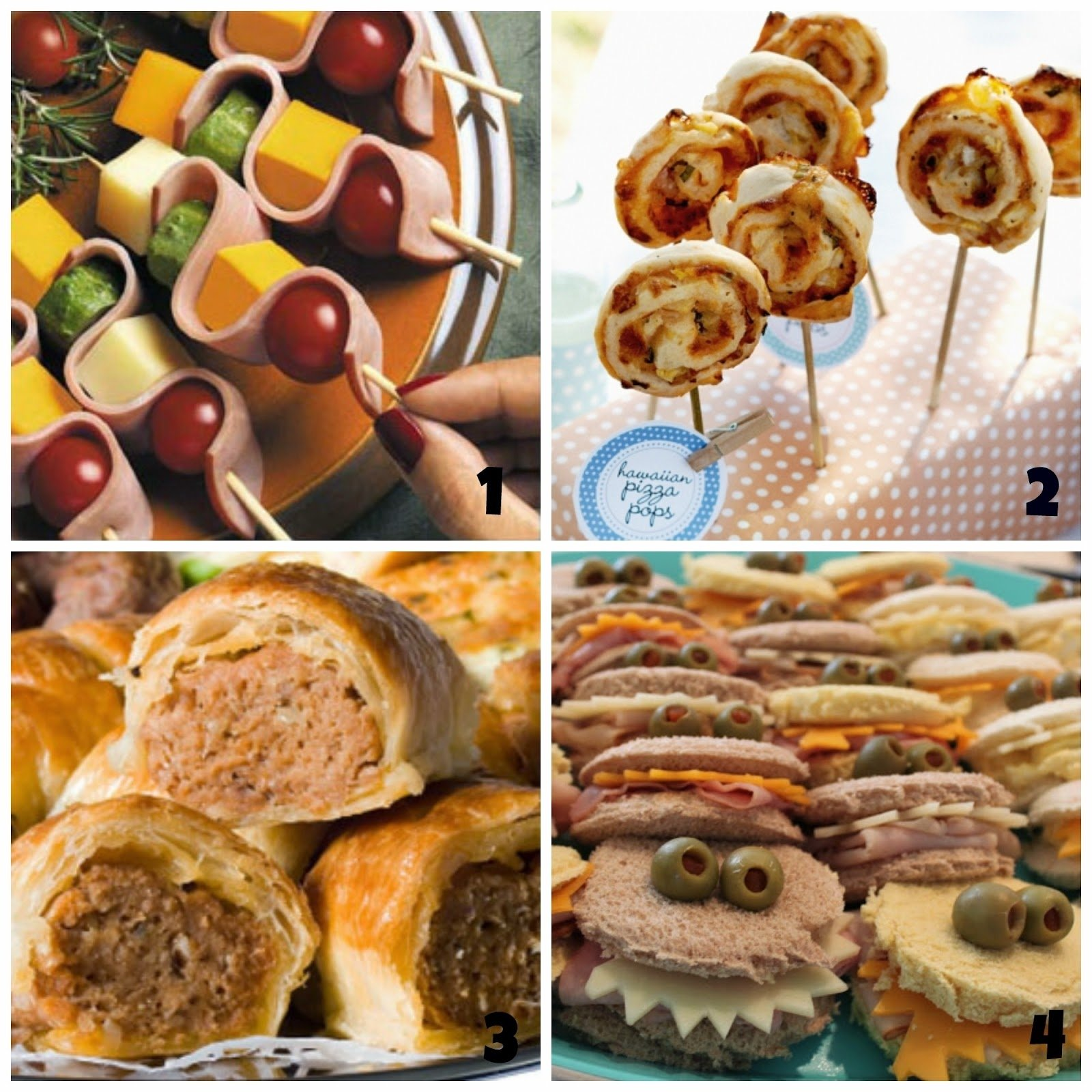 what's on 4 kids parties - 12 awesome party food ideas