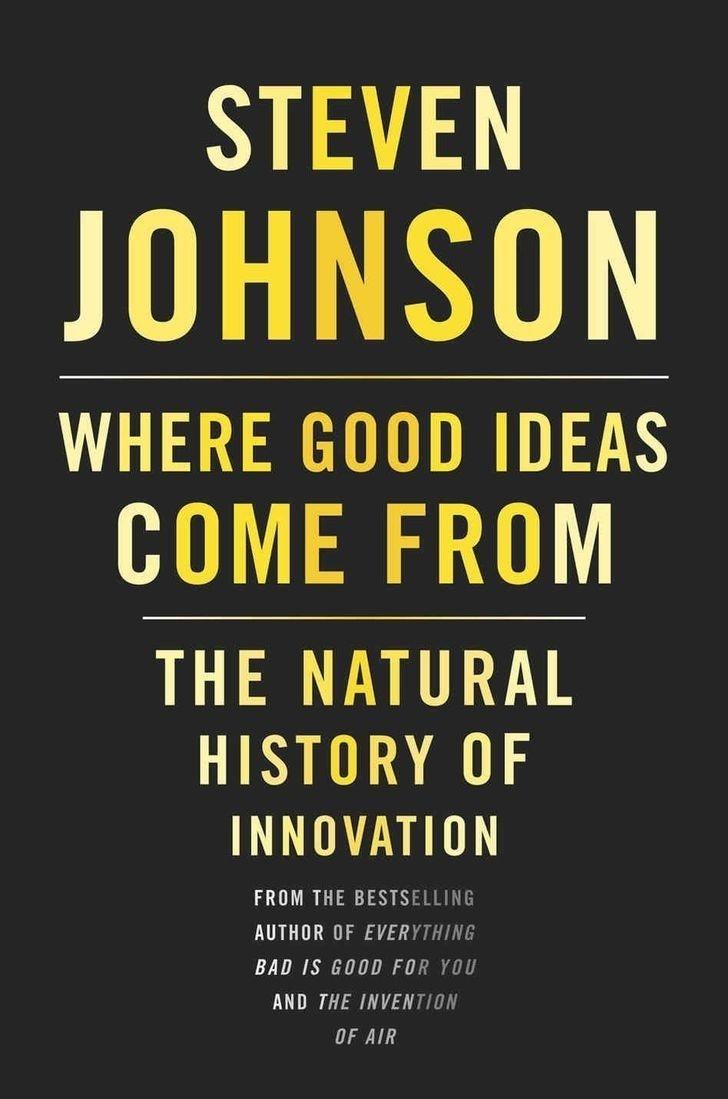 10 Lovable Where Good Ideas Come From Steven Johnson where good ideas come from steven johnson lire pinterest 2020