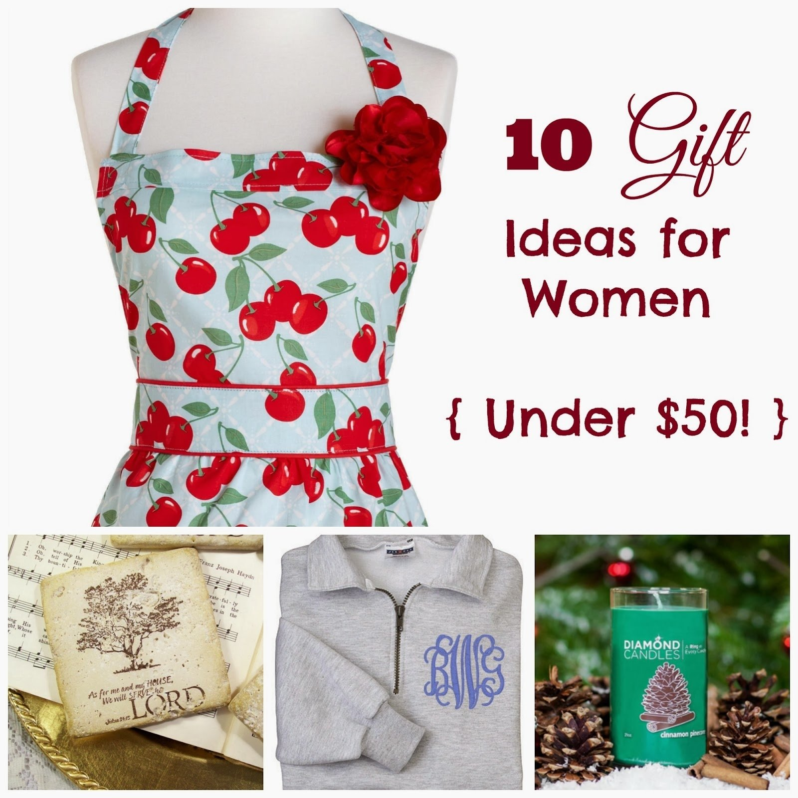 10 Great 2013 Gift Ideas For Women where joy is 10 gift ideas for women under 50