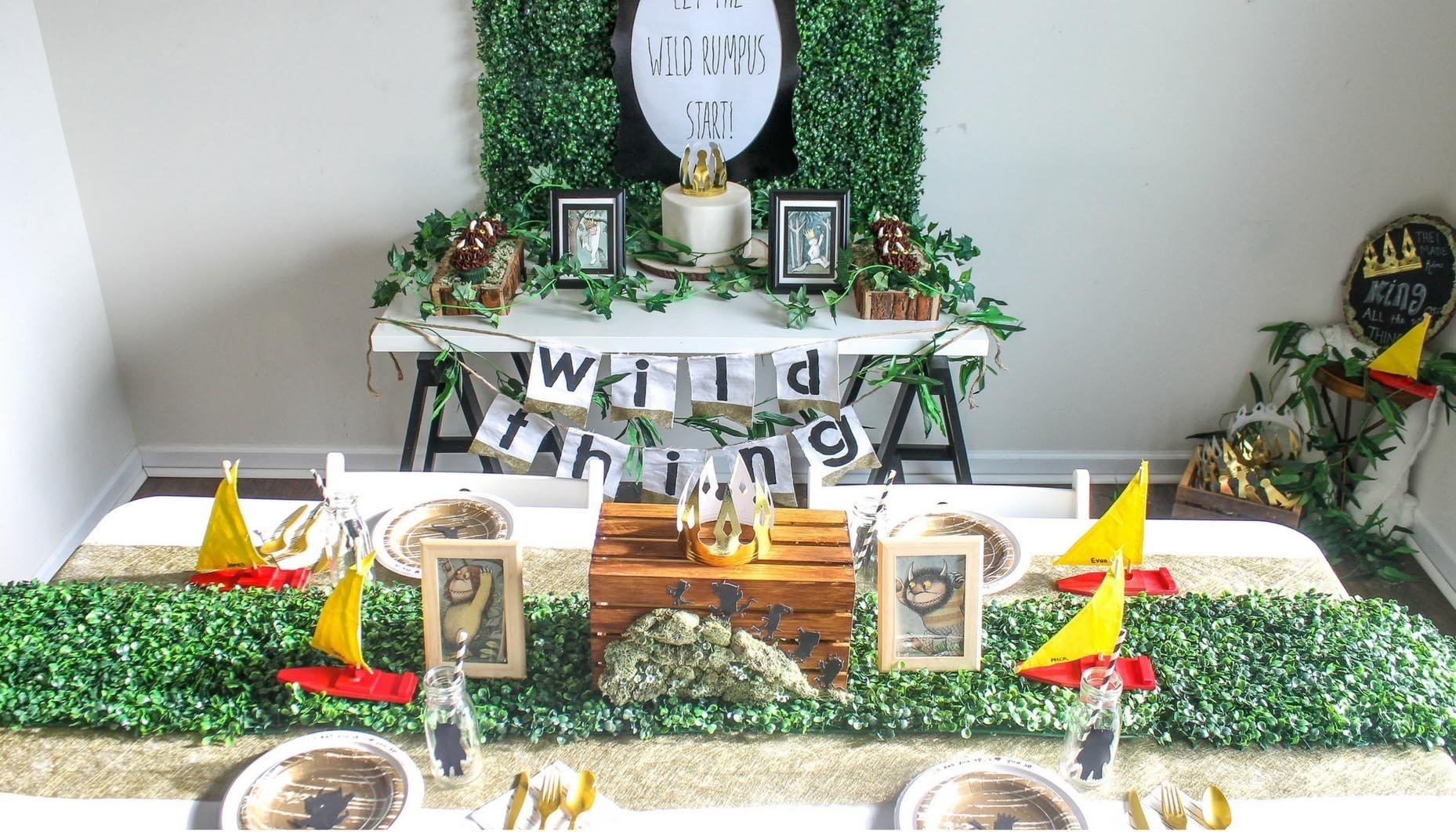 10 Famous Where The Wild Things Are Party Ideas where the wild things are inspired birthday party 2021