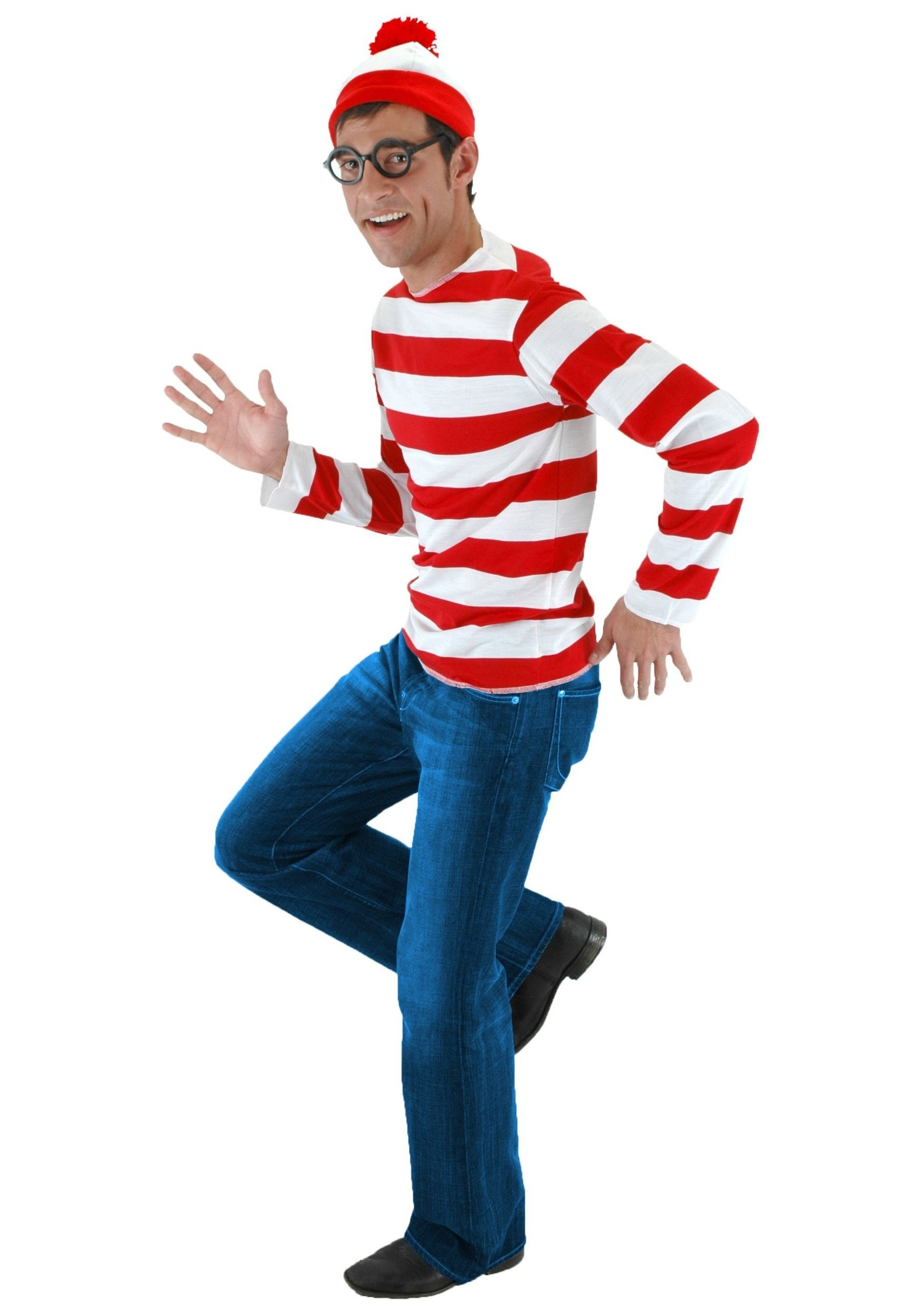 10 Attractive Easy Halloween Costume Ideas Men wheres waldo costume exclusive sizes available 8