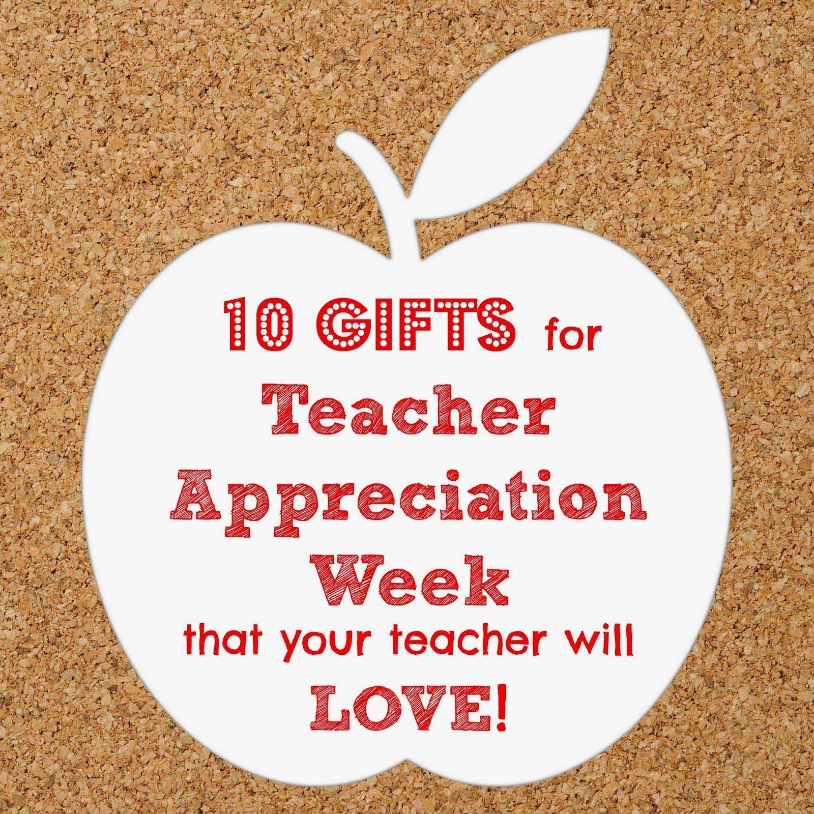 10 Famous Ideas For Teacher Appreciation Week while im waiting 10 gift ideas for teacher appreciation week 2 2020