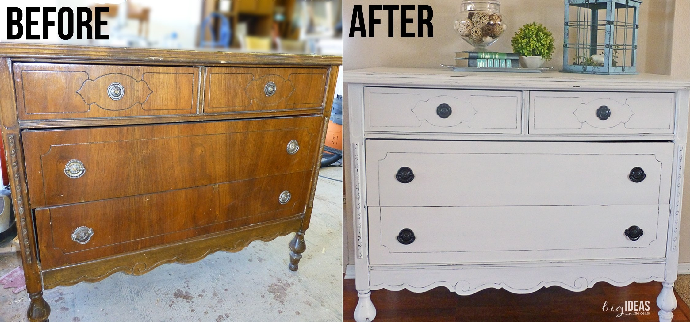10 Fabulous Chalk Paint Ideas For Furniture white dresser redo and homemade chalk paint a beginners experience 2020