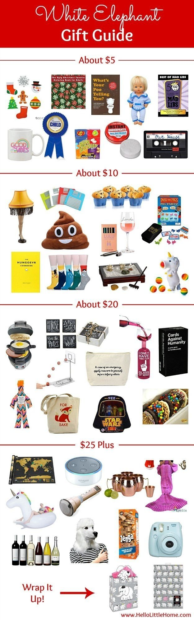 10 Attractive Top White Elephant Gift Ideas white elephant gift guide white elephant gift and holidays 2020