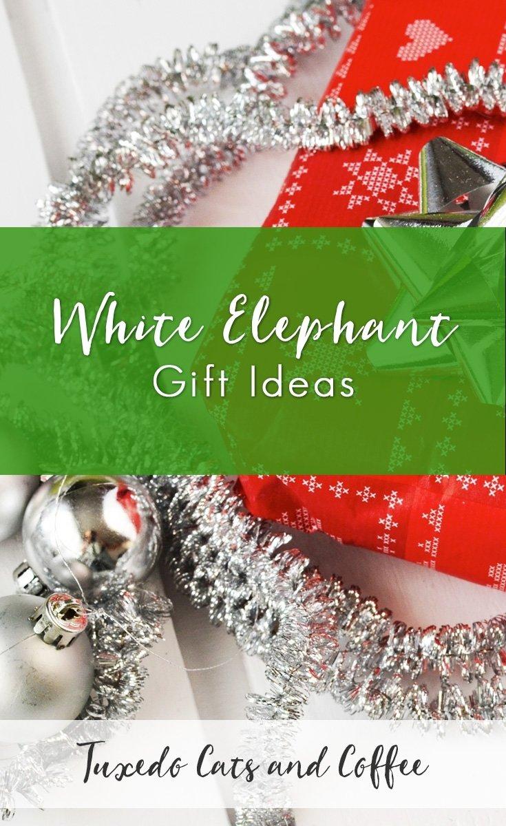 10 Spectacular Ideas For White Elephant Gift white elephant gift ideas tuxedo cats and coffee 2 2020
