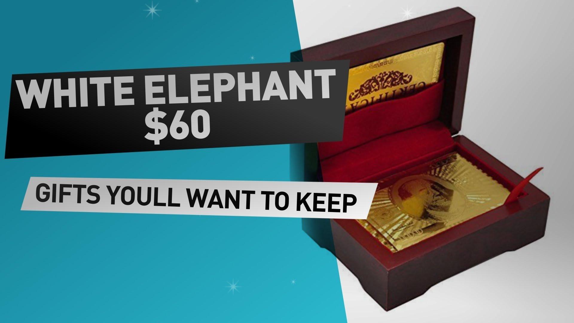 10 Pretty Ideas For White Elephant Gifts white elephant gifts under 60 dollar great white elephant gift 2020