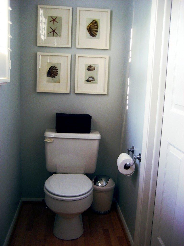10 Cute Very Small Powder Room Ideas white gloss round ceramic vessel sink very small powder room design