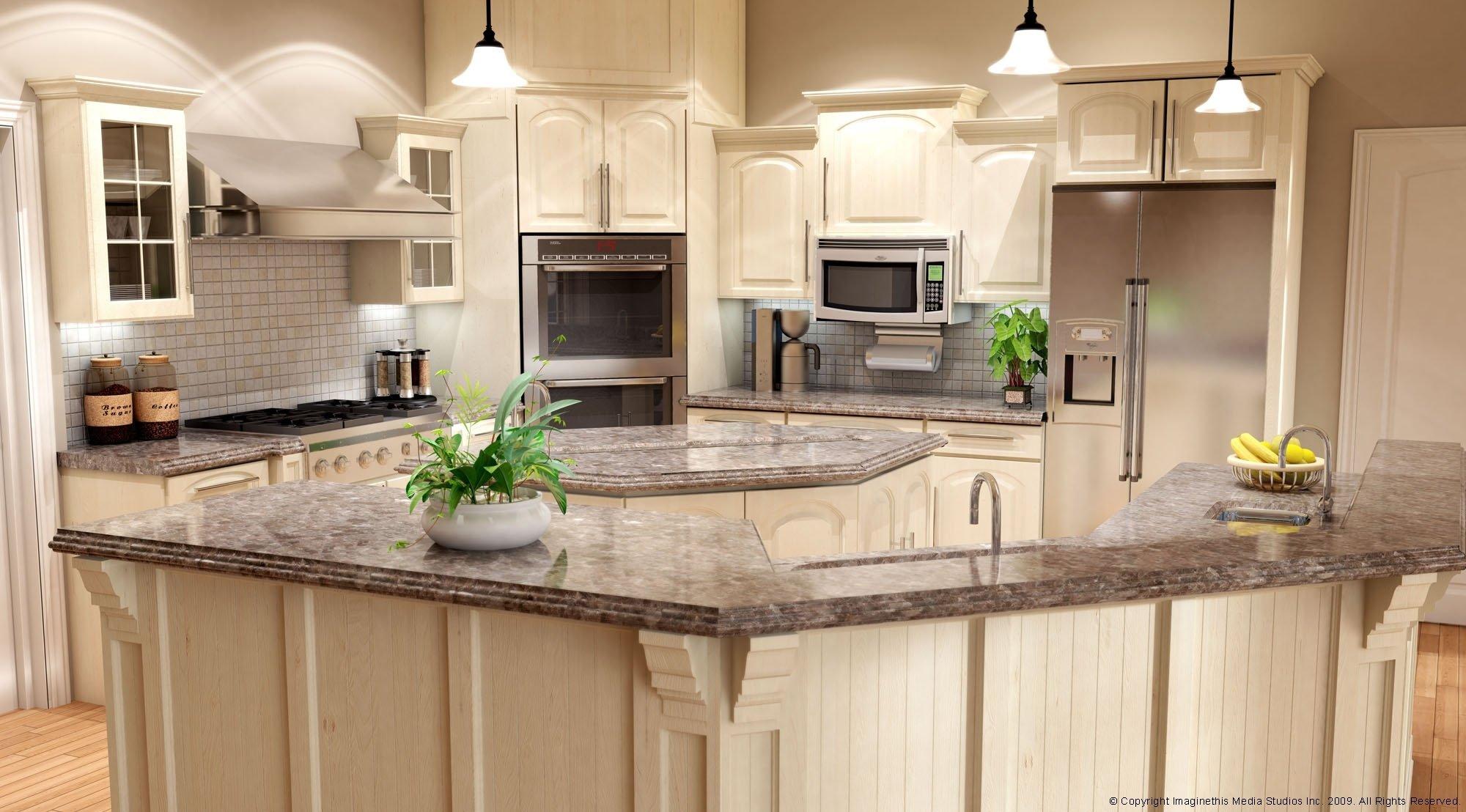 10 Gorgeous Kitchen Ideas With White Cabinets white kitchen cabinet ideas with gray granite countertop eva furniture 2020