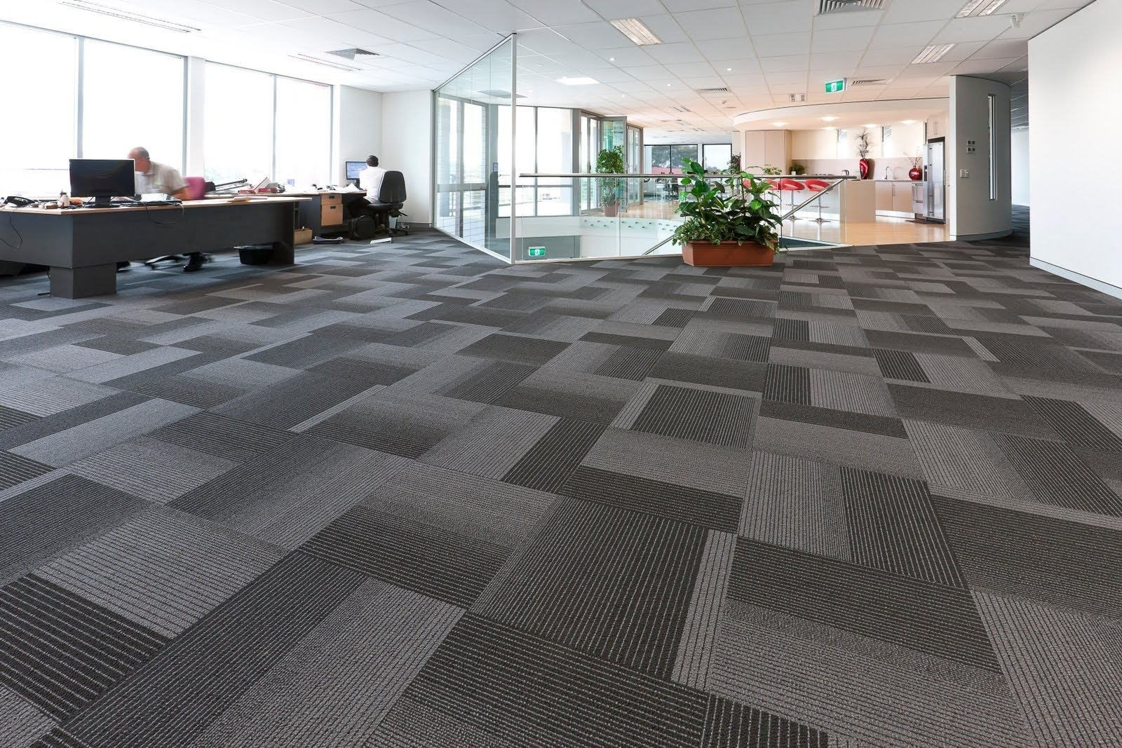 10 Fashionable Wall To Wall Carpet Ideas wide office space with dark grey and silver wall to wall carpet 2020