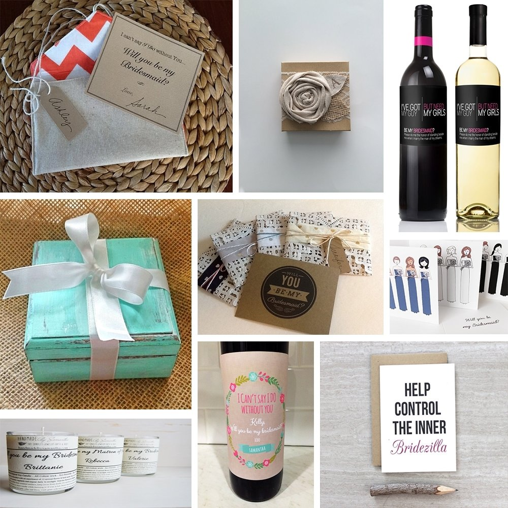 10 Beautiful Maid Of Honor Gift To Bride Ideas will you be my bridesmaid gift ideas marigold grey 4 2021