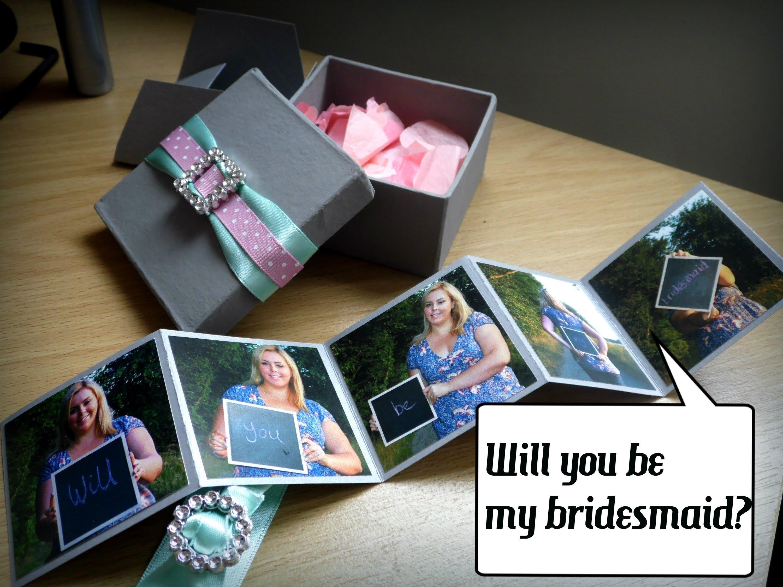 10 Wonderful Diy Will You Be My Bridesmaid Ideas will you be my bridesmaid wedding diy craft youtube 2020