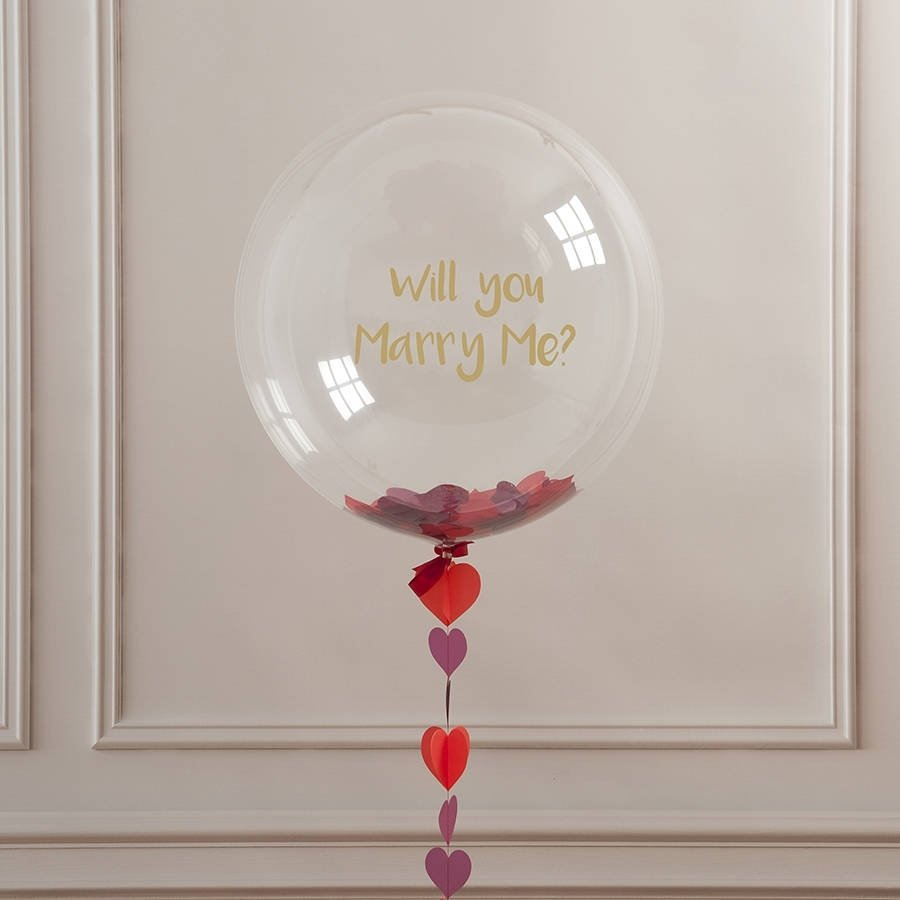 10 Most Recommended Will You Marry Me Ideas will you marry me balloon myonewedding co uk