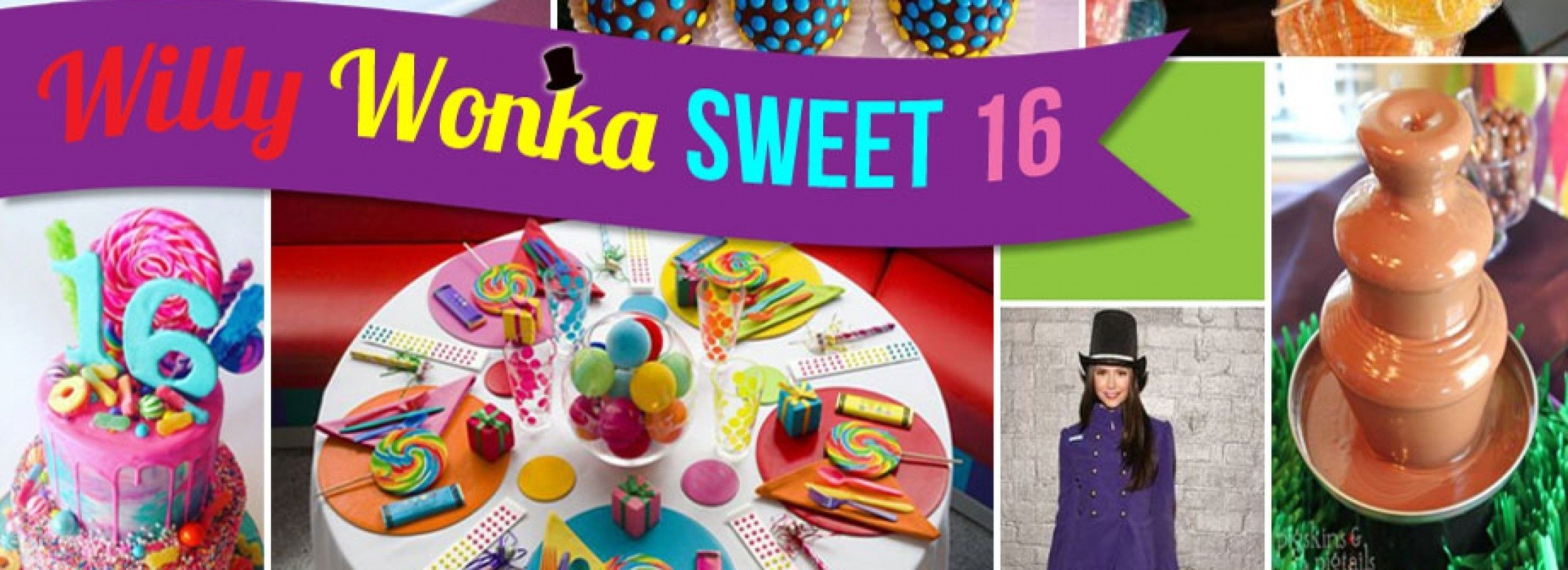 10 Lovely Cool Sweet 16 Party Ideas willy wonka inspired sweet 16 party ideas 2020