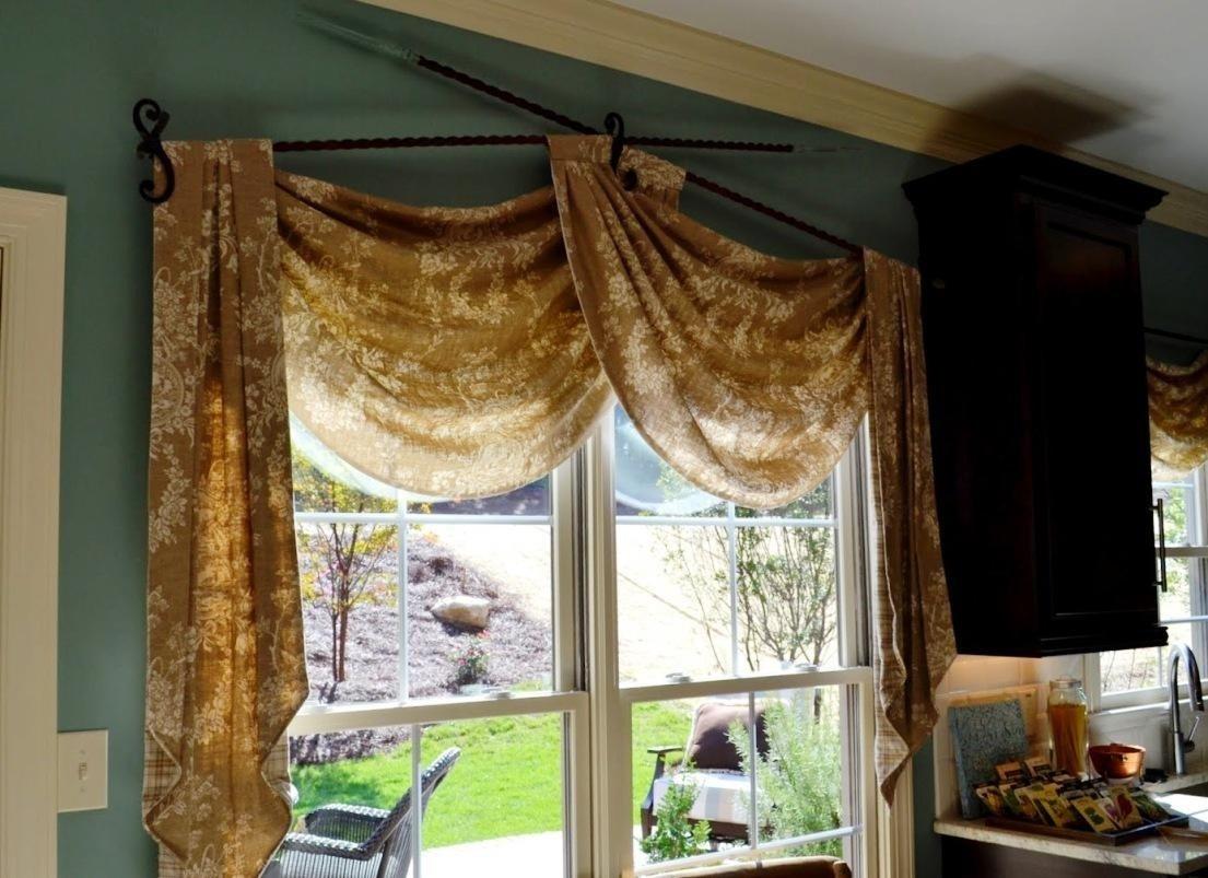 10 Stylish Valance Ideas For Large Windows window valance design ideas best house design modern valance ideas 2020