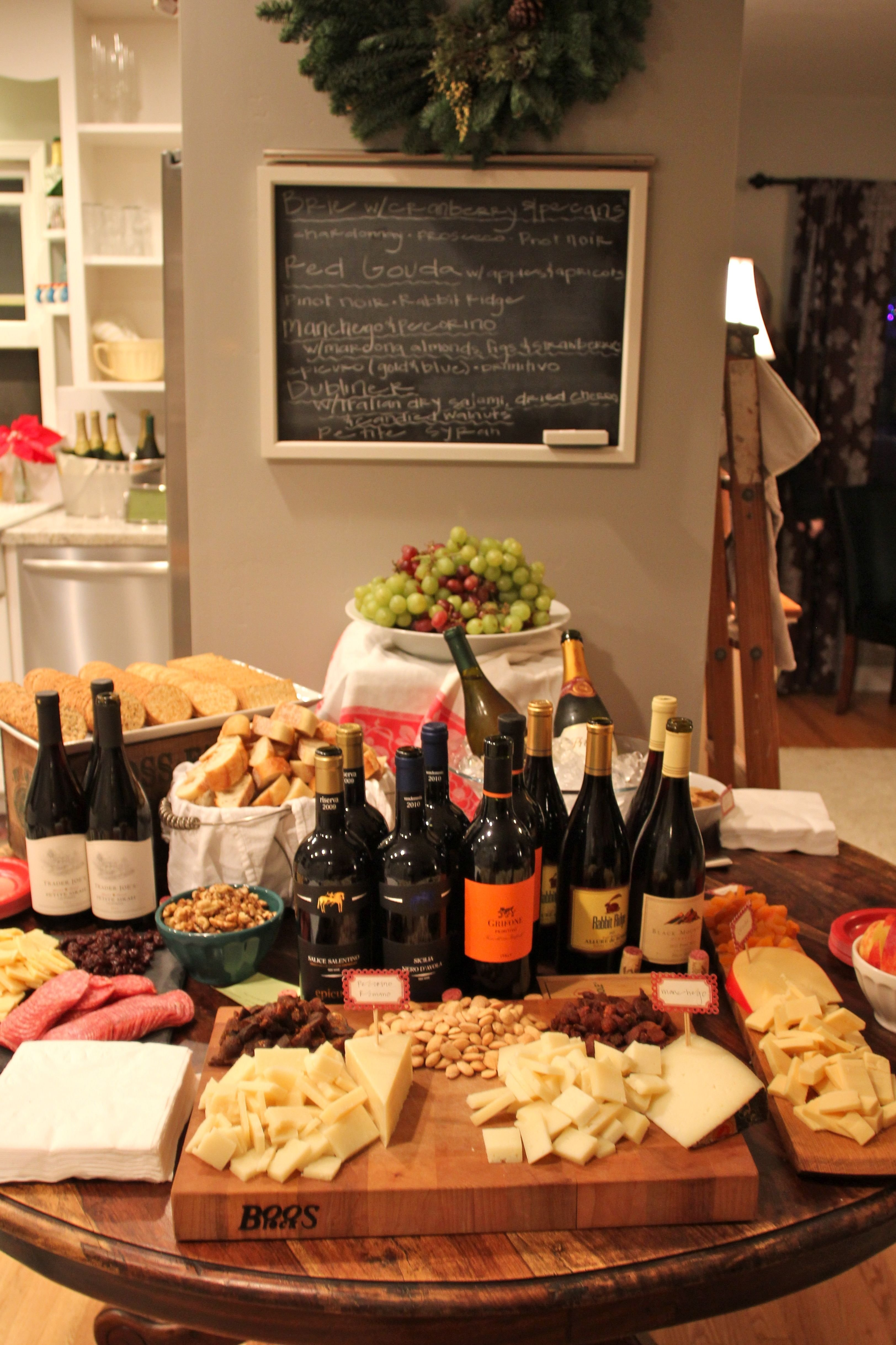 10 Attractive Wine And Cheese Party Ideas wine and cheese party google search appetizers pinterest 2021