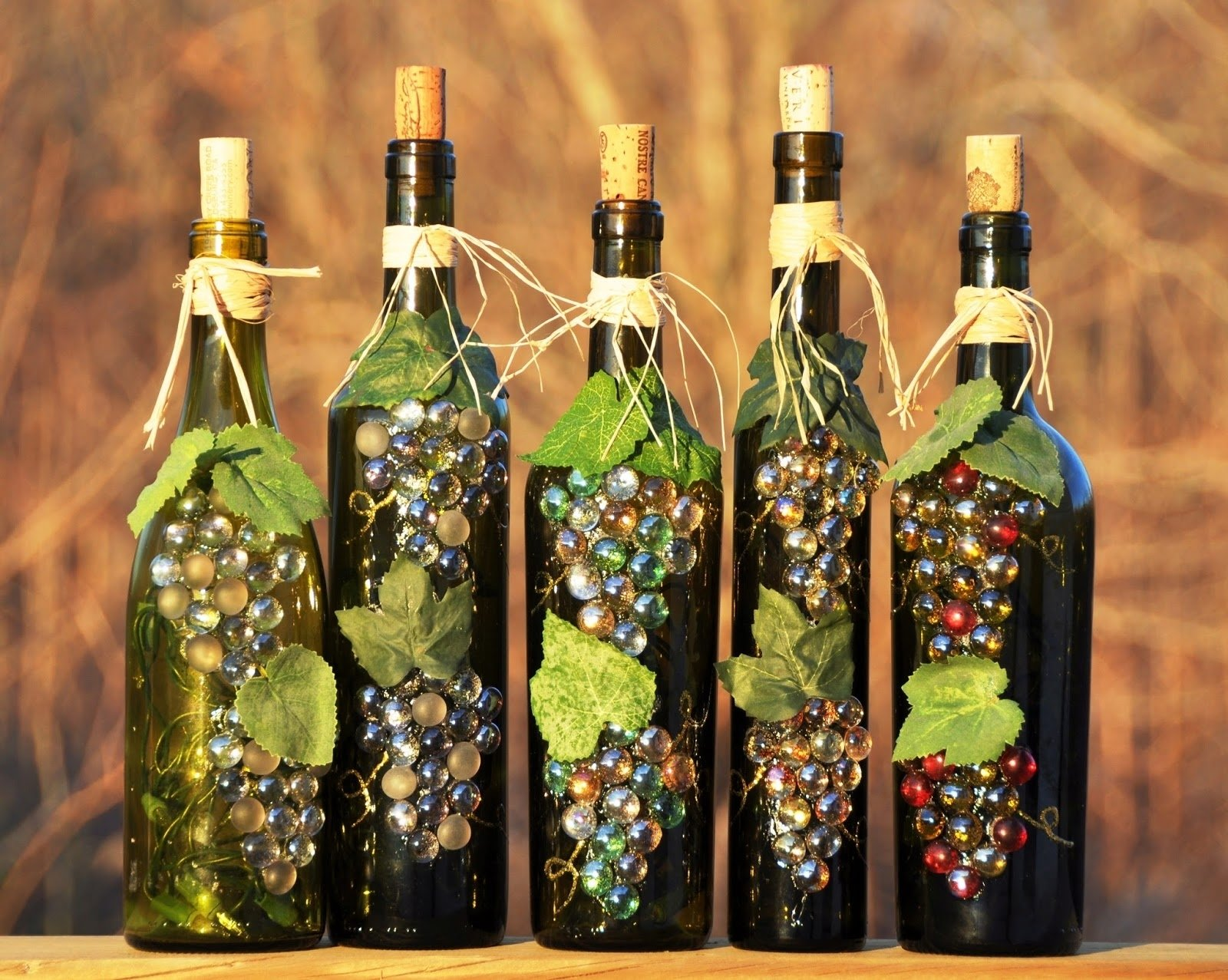 10 Most Popular Craft Ideas For Wine Bottles wine bottle recycle craft project art craft gift ideas 1 2020