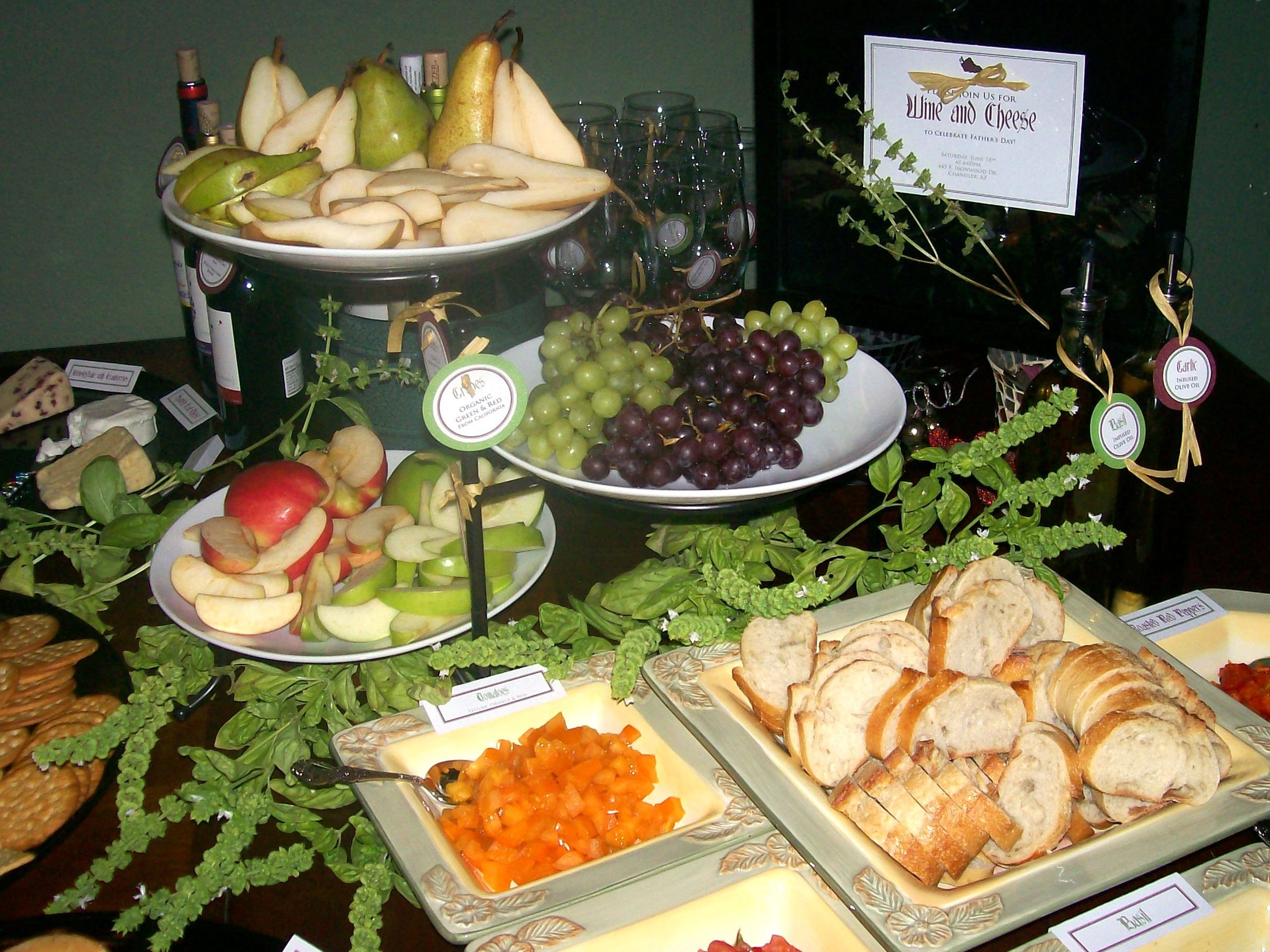 10 Attractive Wine And Cheese Party Ideas wine cheese party for fathers day elizabethkaydesign 2021
