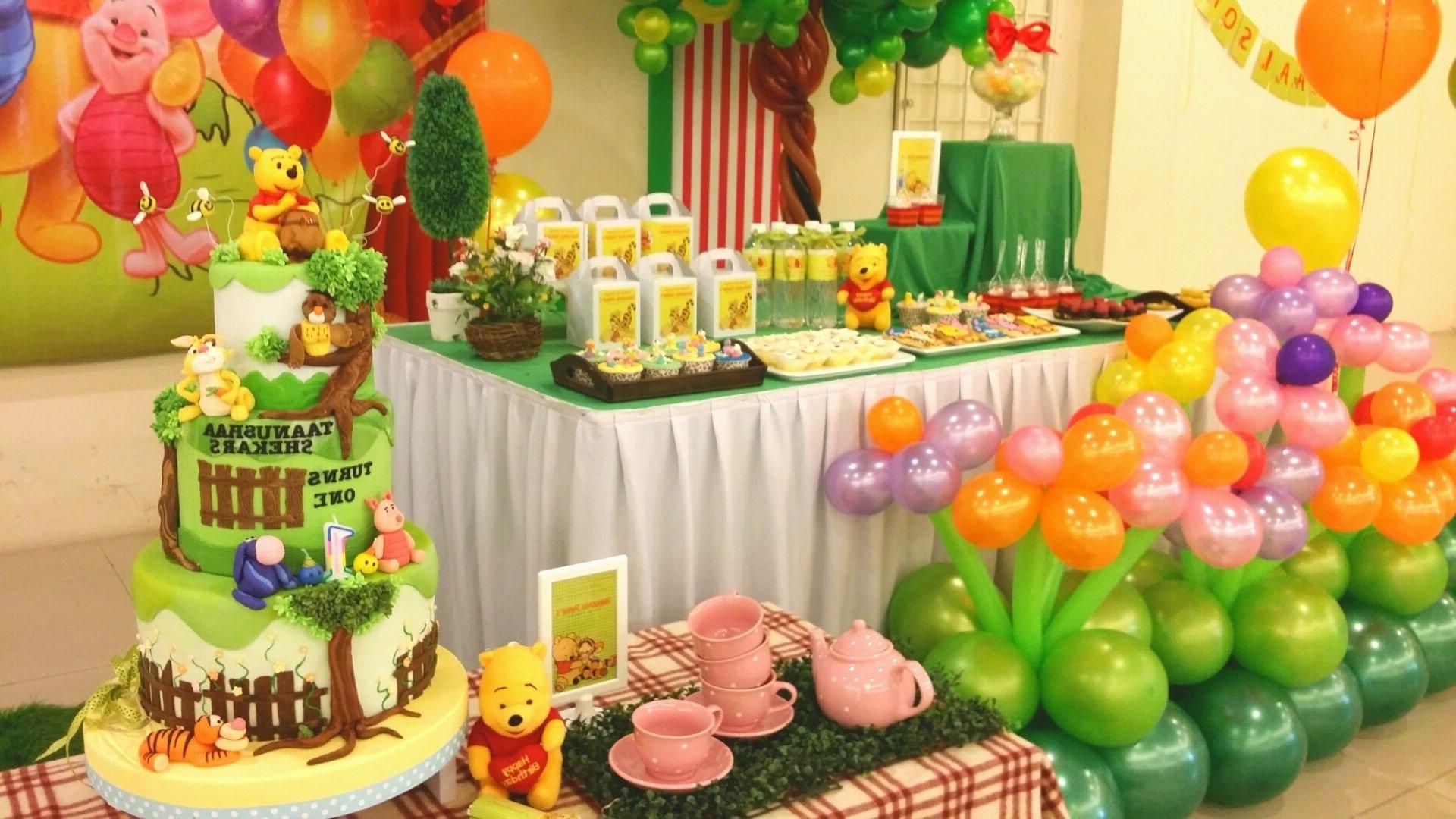 10 Pretty Winnie The Pooh Birthday Party Ideas winnie the pooh 5th birthday party banner decorating of party ideas