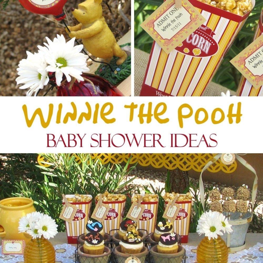 10 Stunning Winnie The Pooh Baby Shower Ideas winnie the pooh baby shower ideas games food favors decorations 1 2021