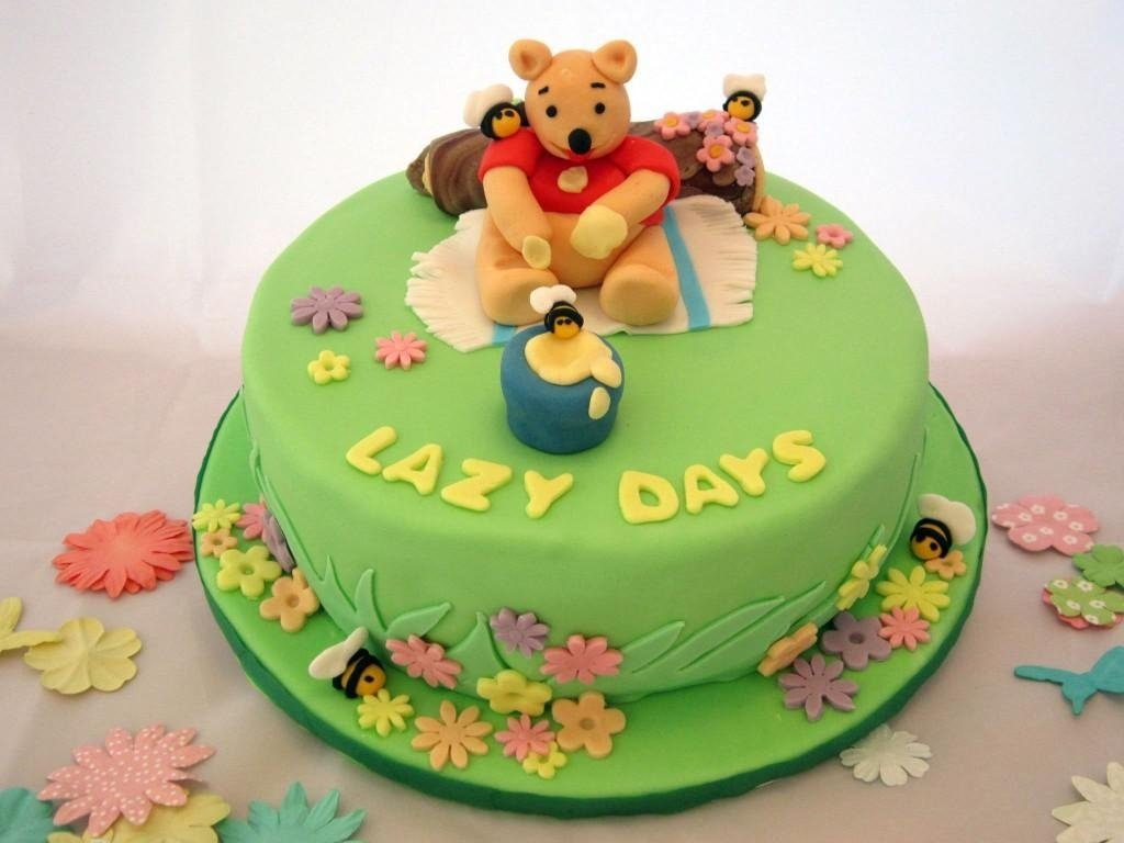 10 Stylish Winnie The Pooh Birthday Ideas winnie the pooh birthday ideas baby cake imagesbaby cake images 2021