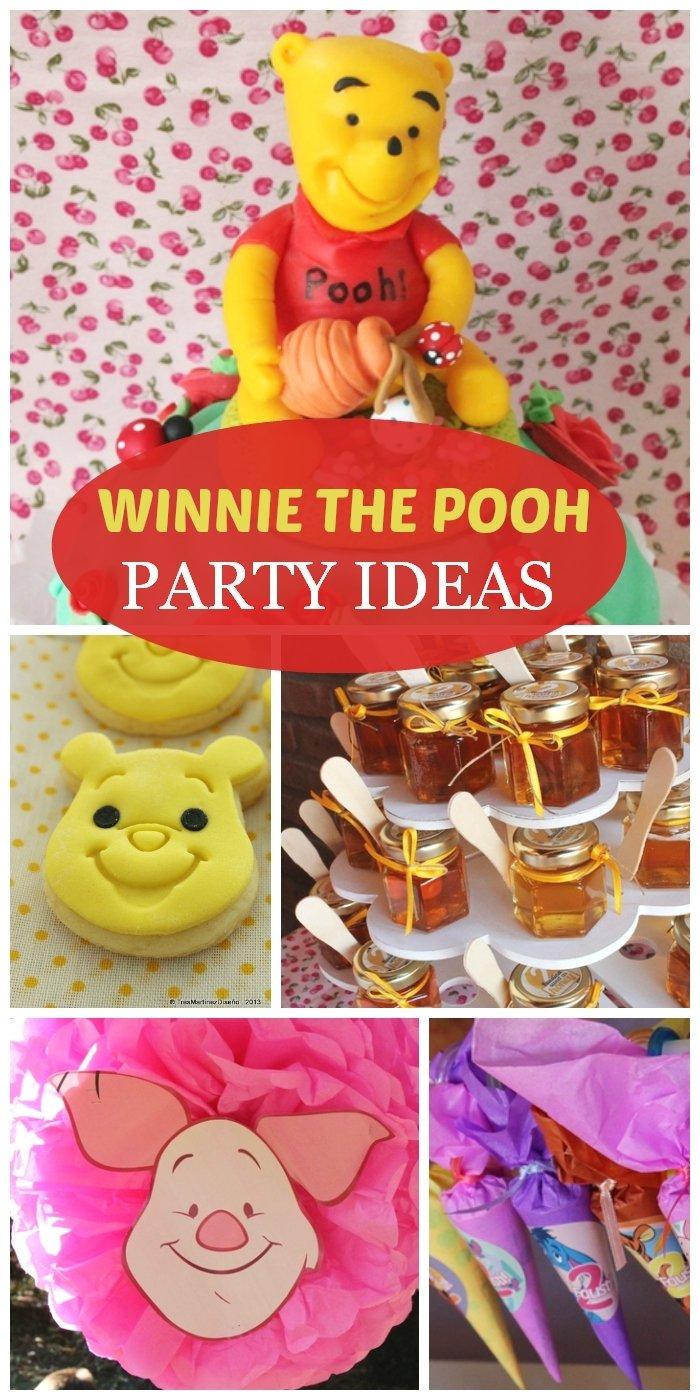 10 Stylish Winnie The Pooh Birthday Ideas winnie the pooh birthday winnie pooh faustina girl birthday 2021