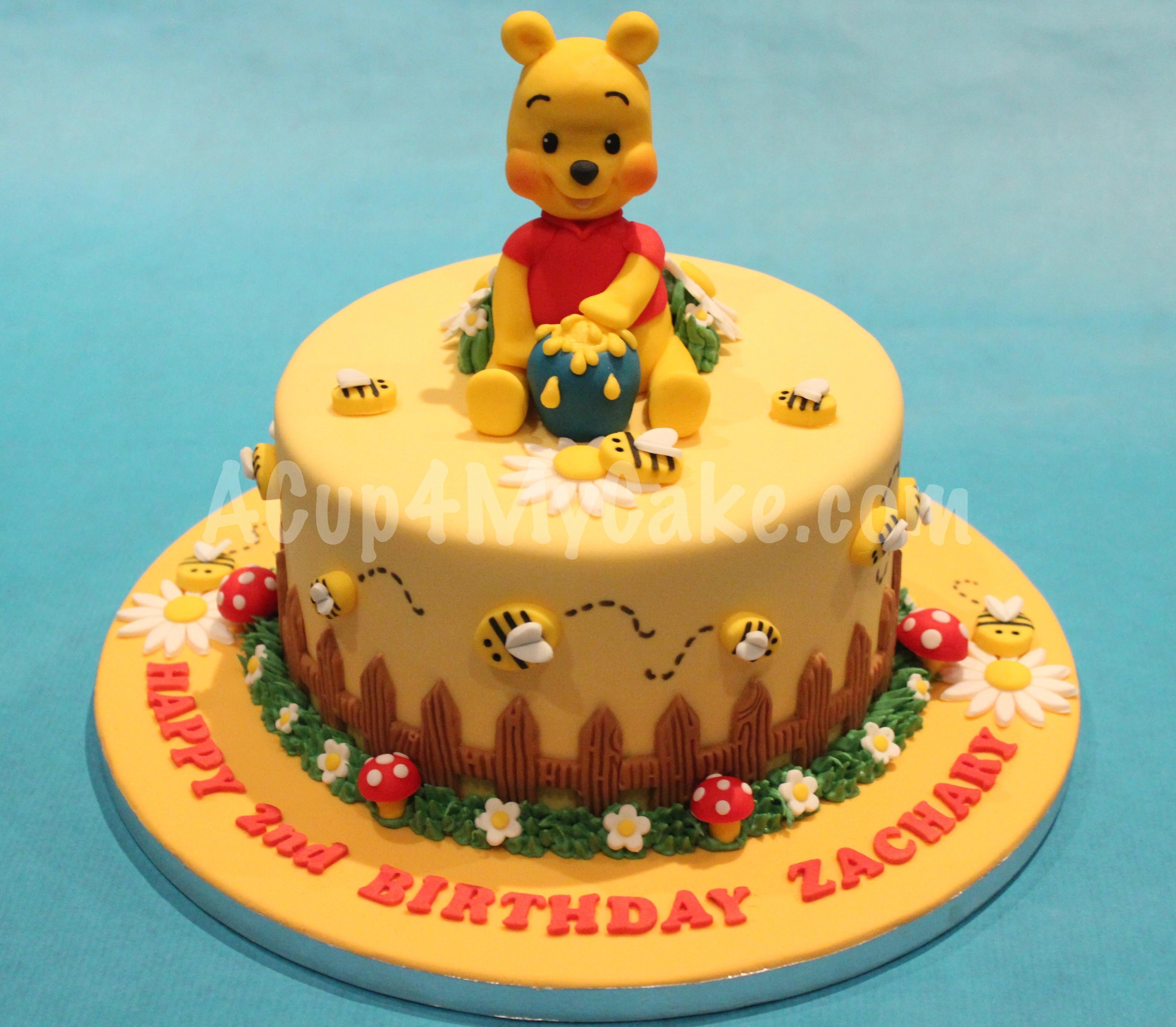10 Fantastic Winnie The Pooh Cake Ideas winnie the pooh cake acup4mycake 2020