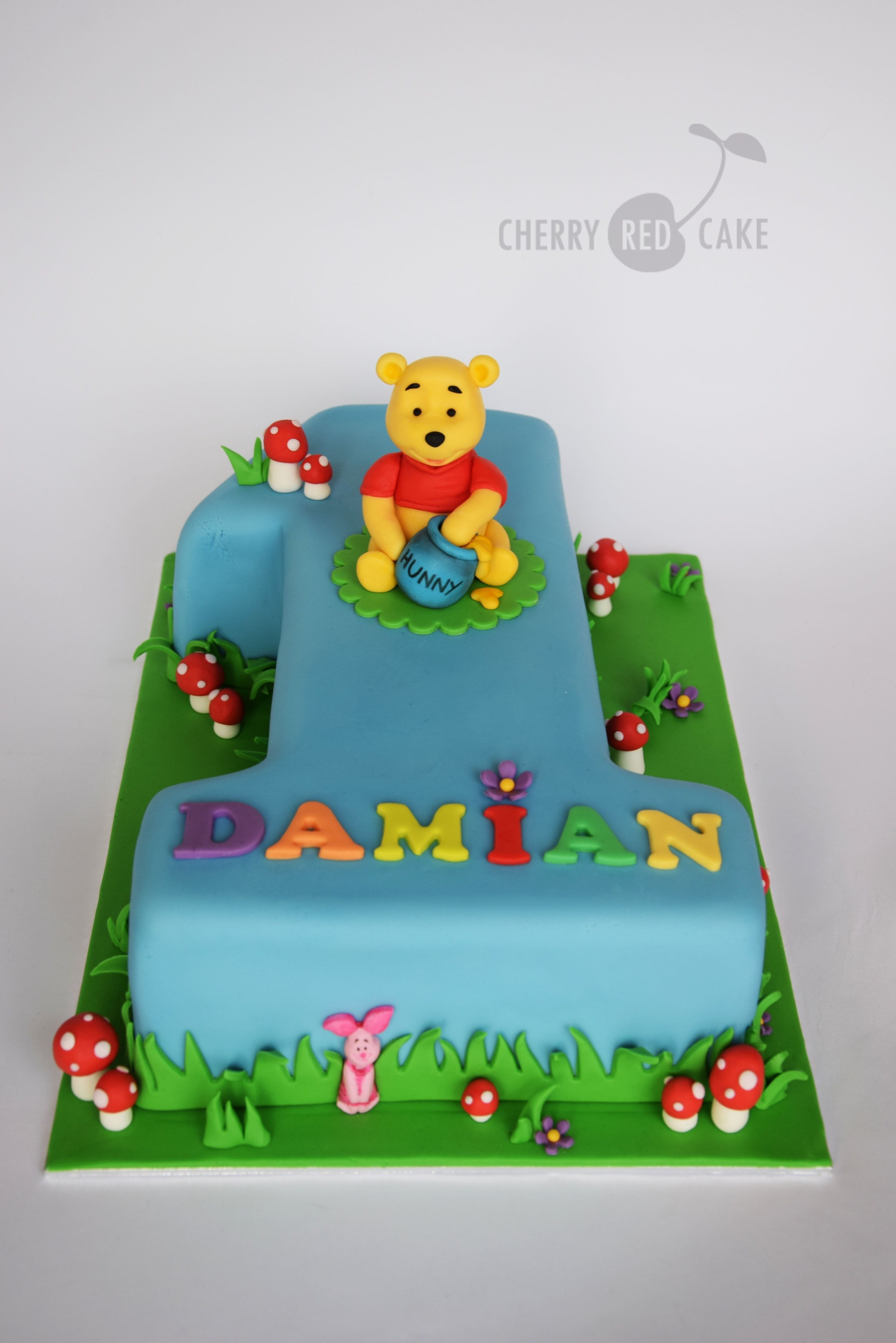 winnie the pooh cake | baby cake | pinterest | cake, birthdays and