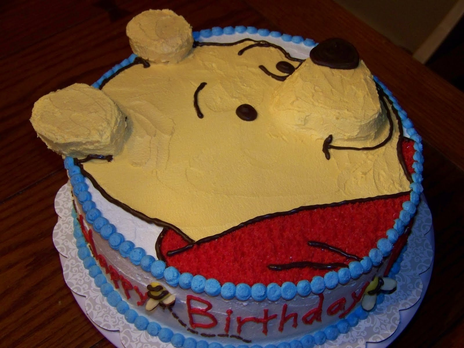 winnie the pooh cakes – decoration ideas | little birthday cakes