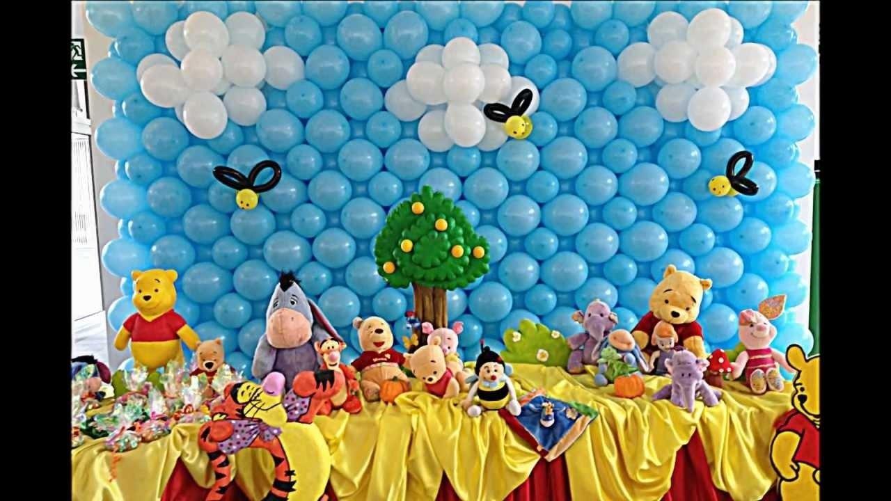 10 Pretty Winnie The Pooh Birthday Party Ideas winnie the pooh theme 4 stars most beautiful birthday party