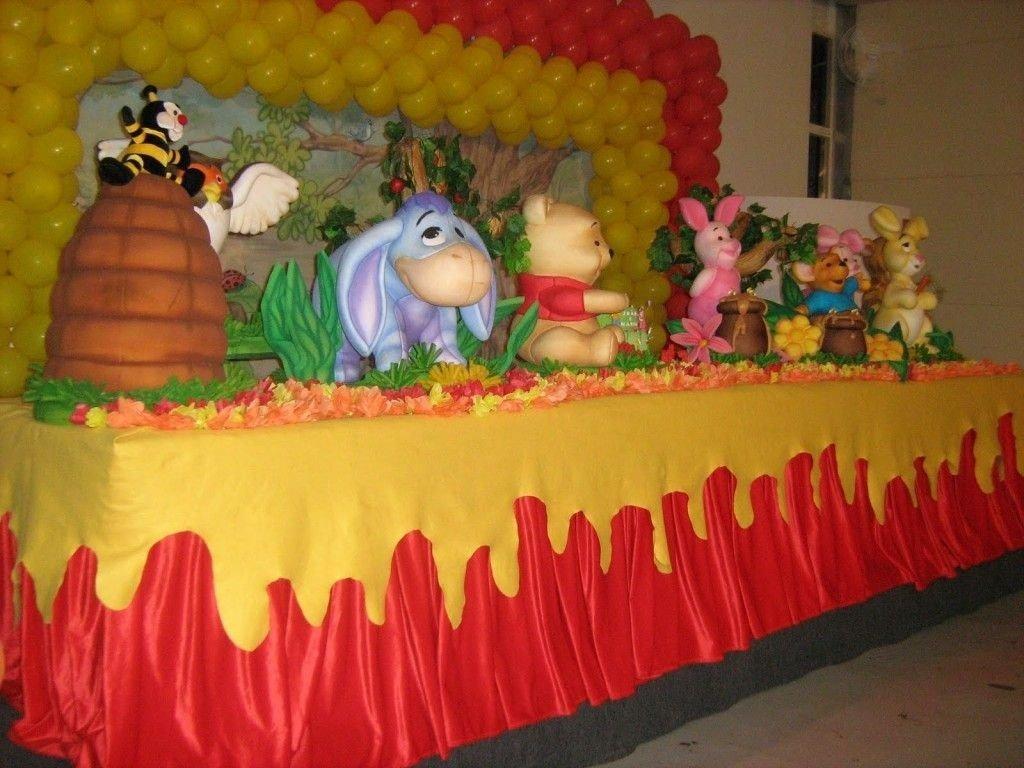 10 Pretty Winnie The Pooh Birthday Party Ideas winnie the pooh theme centerpieces winnie the pooh kids party