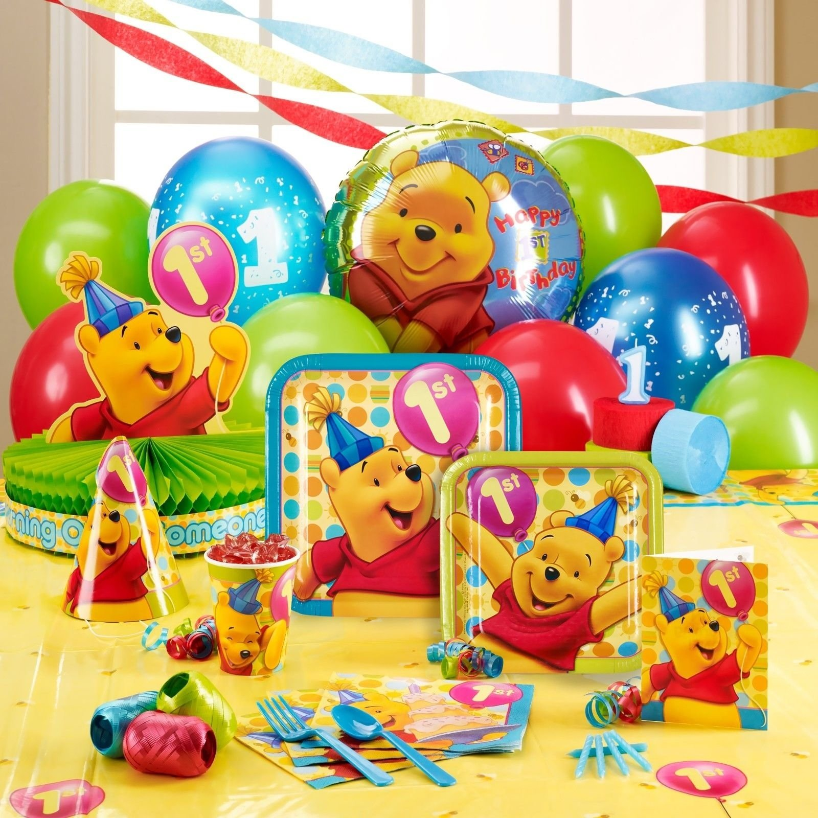 10 Stylish Winnie The Pooh Birthday Ideas winnie the pooh this was my sons 1st birthday party theme party 2021