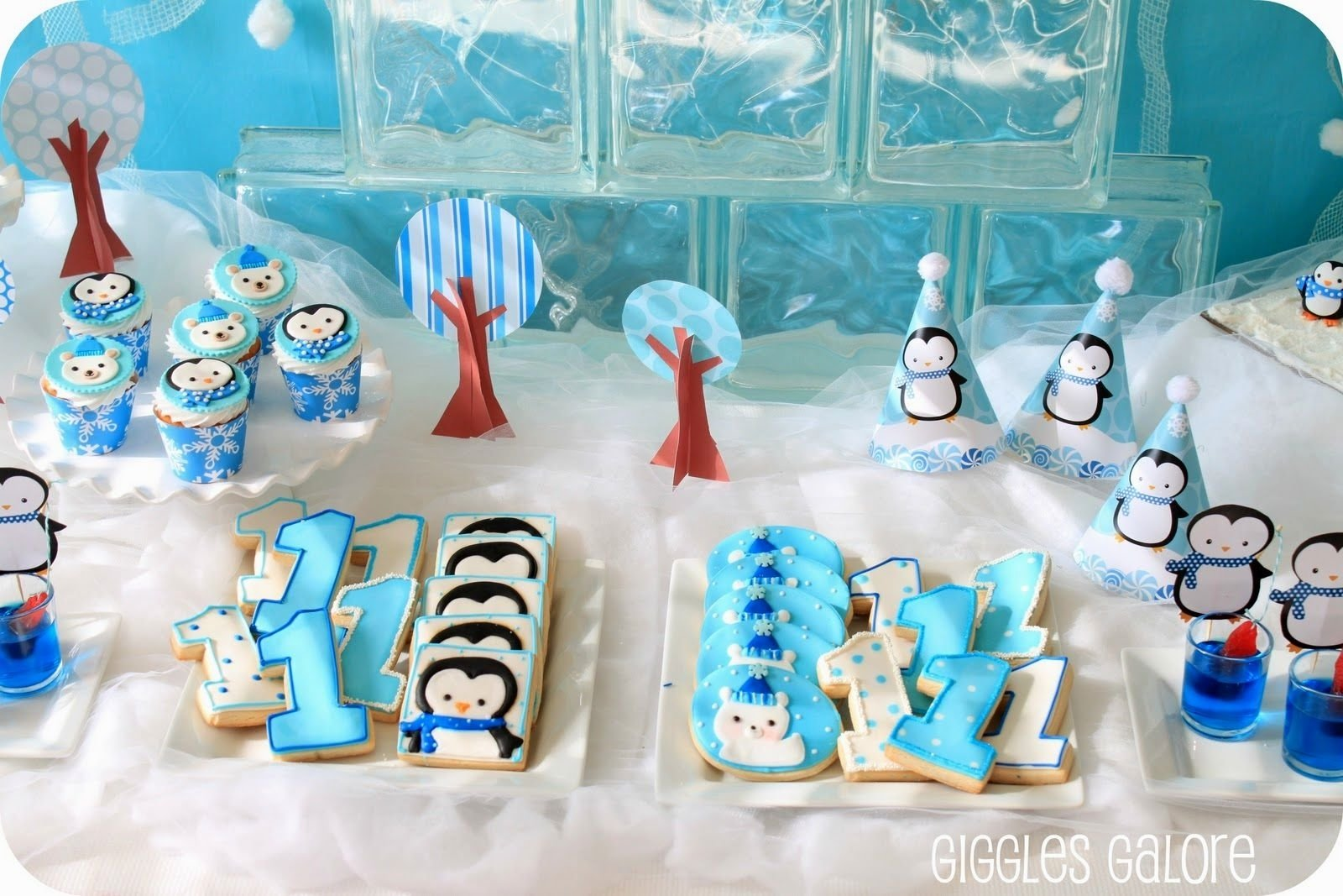 10 Attractive Party Ideas For A 1 Year Old winter birthday party ideas archives decorating of party