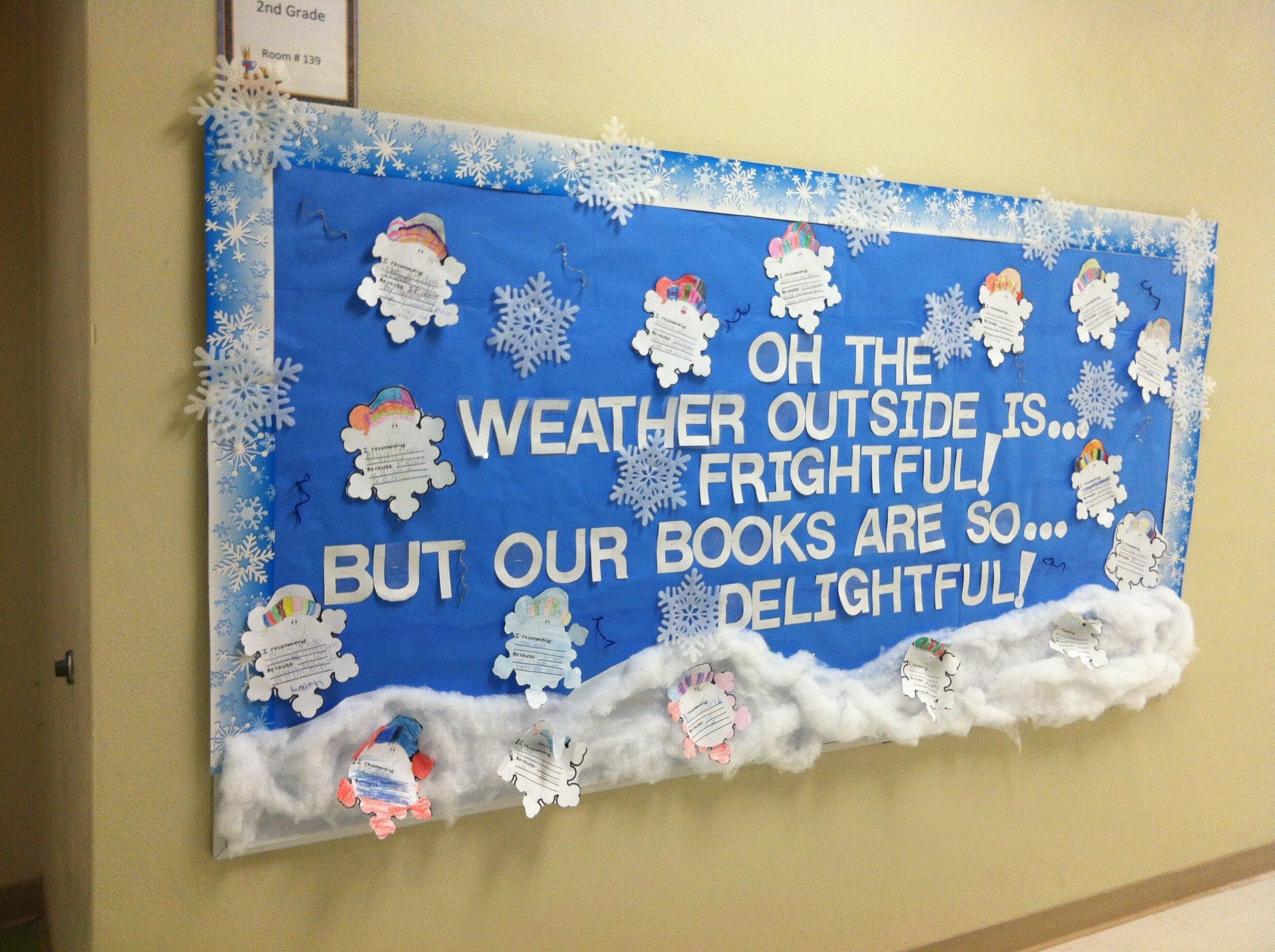 10 Fantastic Winter Bulletin Board Ideas Elementary School 2021