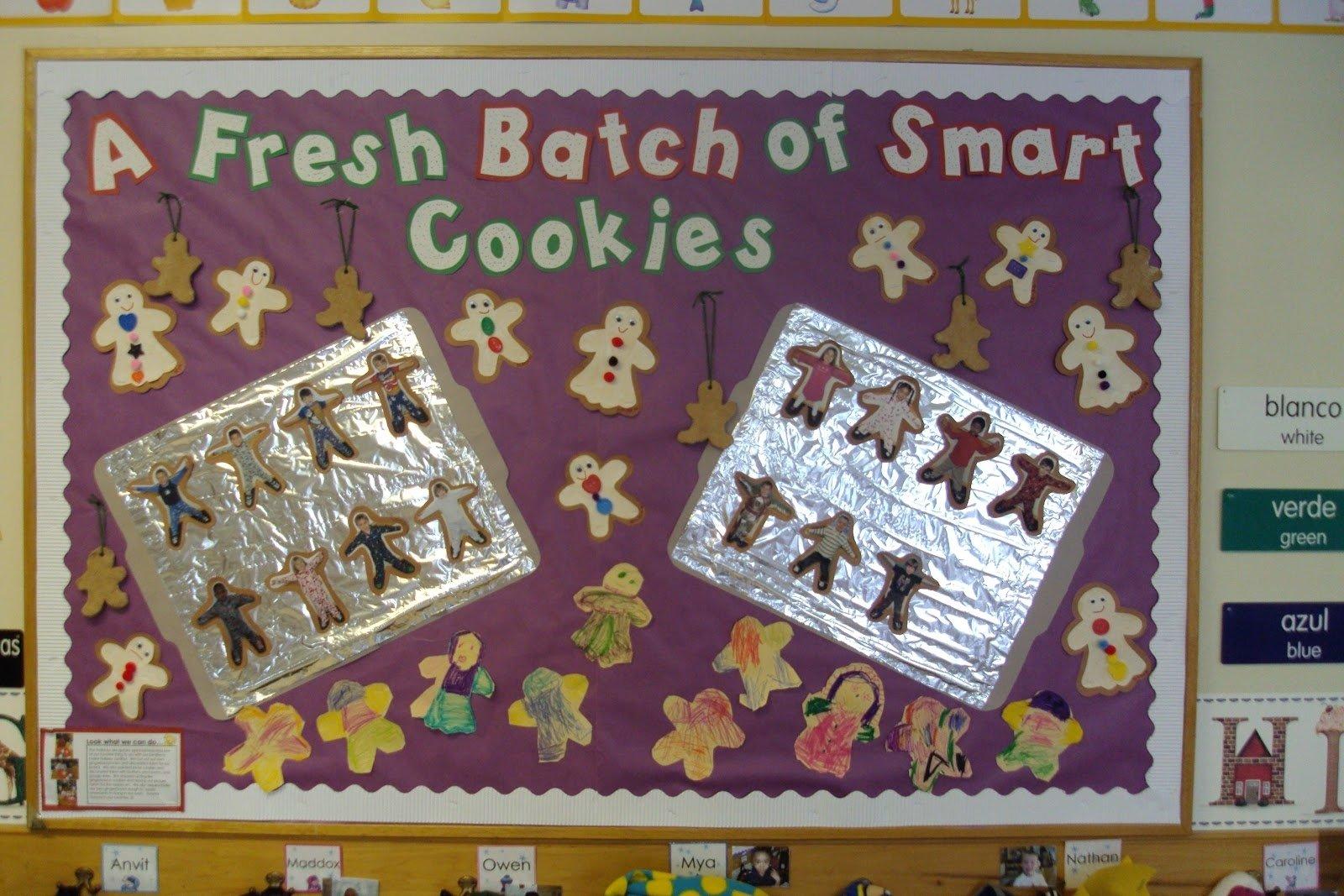 10 Perfect Gingerbread Man Bulletin Board Ideas winter bulletin board ideas library learners 2020