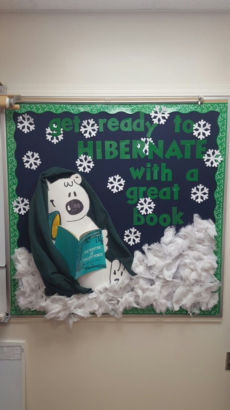 10 Attractive Winter Library Bulletin Board Ideas winter bulletin board pinteres 2020