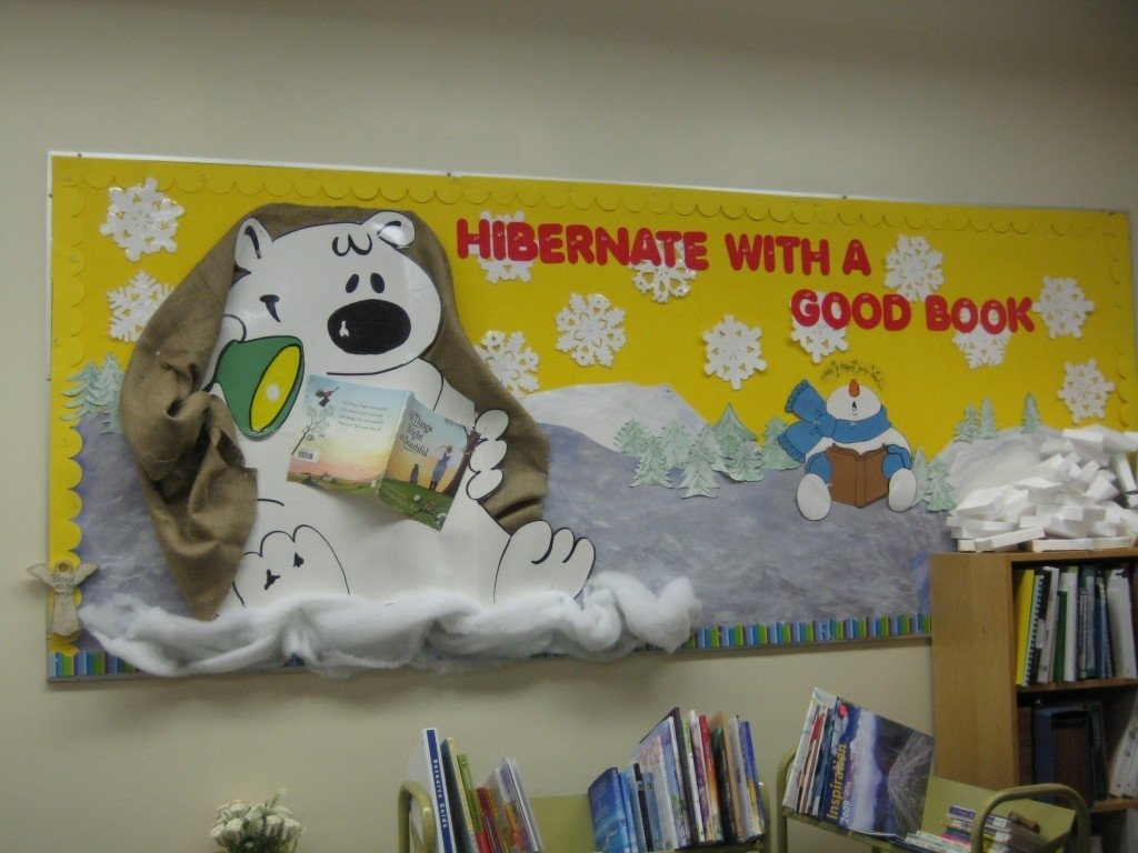 10 Attractive Winter Library Bulletin Board Ideas winter bulletin boards 2020
