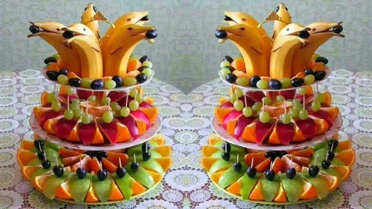 10 Attractive Fruit Tray Ideas For Parties winter fruit platter recipes a beautiful fruit tray youtube 2021