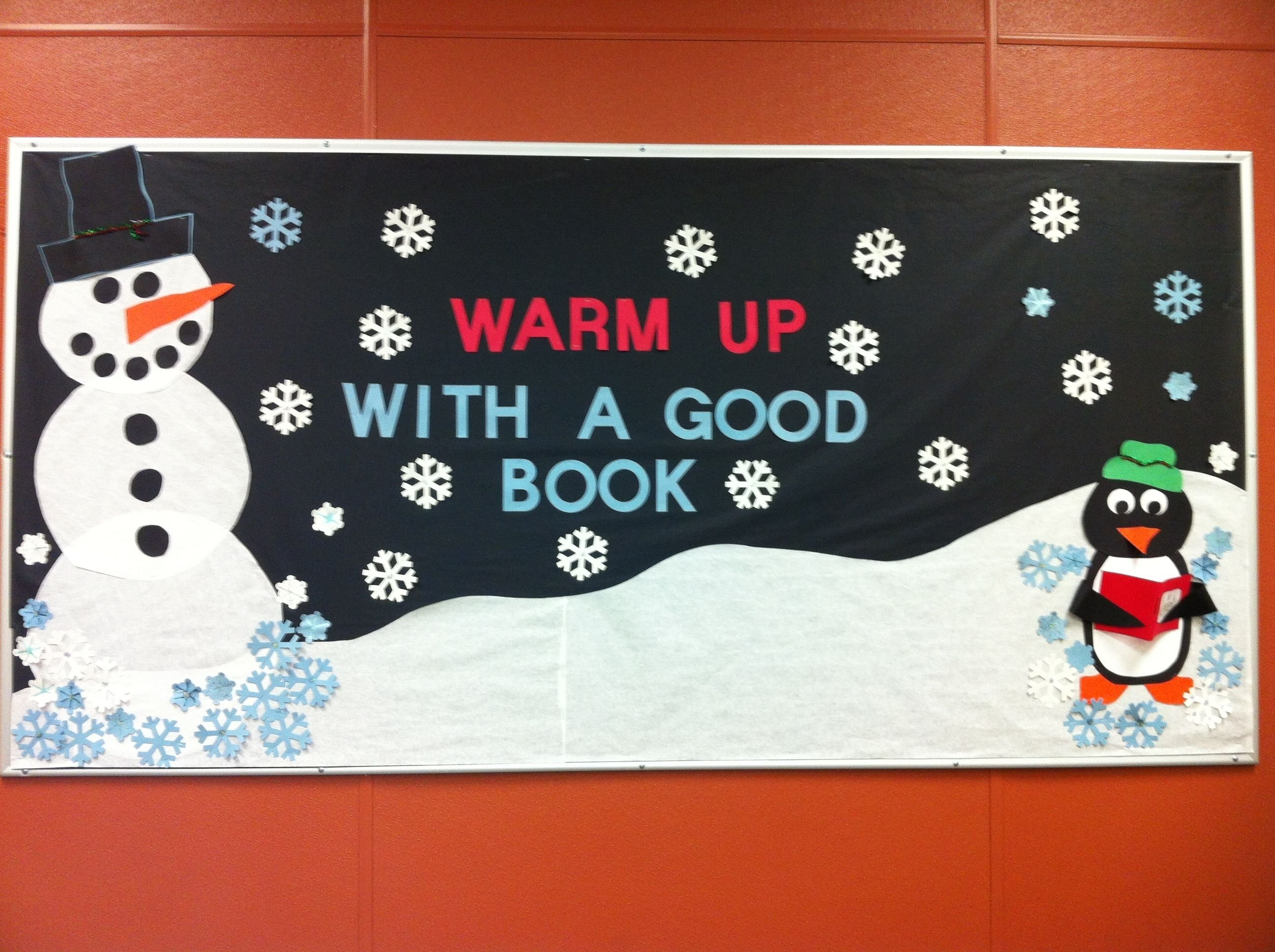 10 Attractive Winter Library Bulletin Board Ideas winter library bulletin board library display ideas pinterest 2020