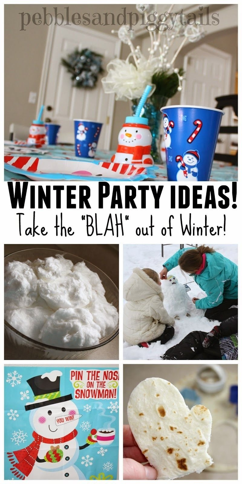 10 Attractive Winter Party Ideas For Kids winter party for kids take the blah out of winter winter