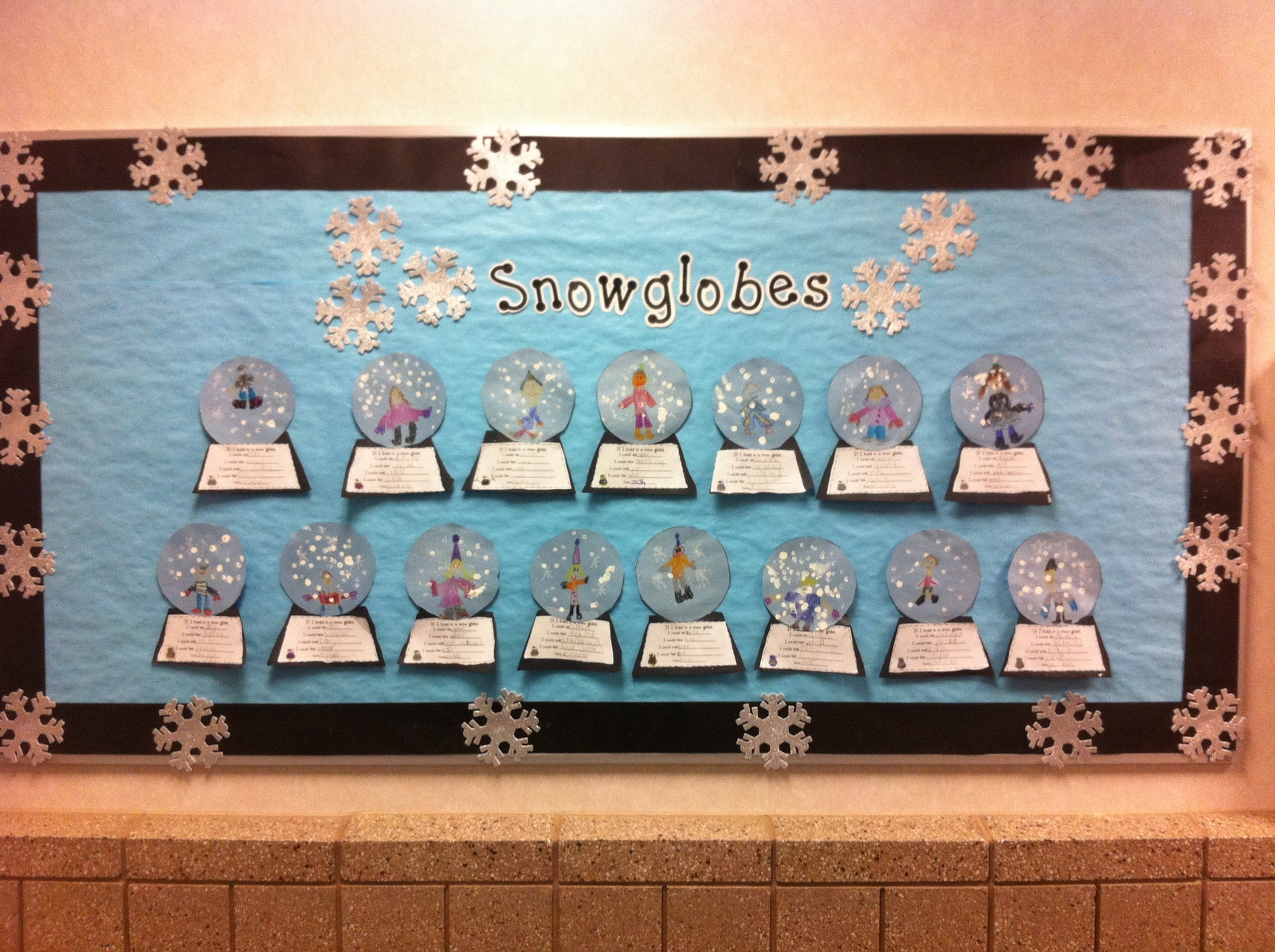 10 Gorgeous Winter Wonderland Bulletin Board Ideas winter wonderland bulletin board ideas postedkatie at 259 pm 2021