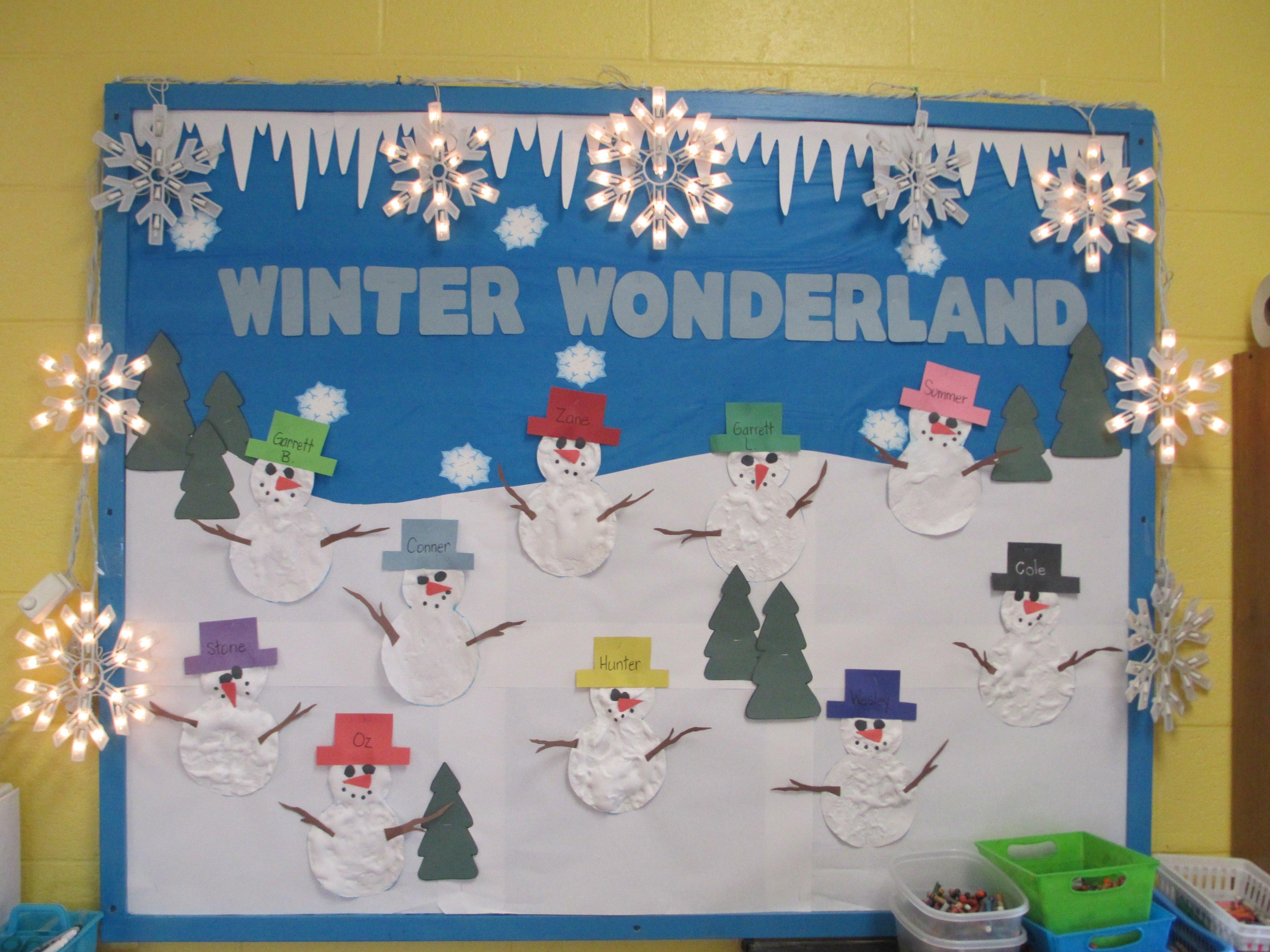10 Gorgeous Winter Wonderland Bulletin Board Ideas winter wonderland bulletin board miss lisas room pinterest 2021