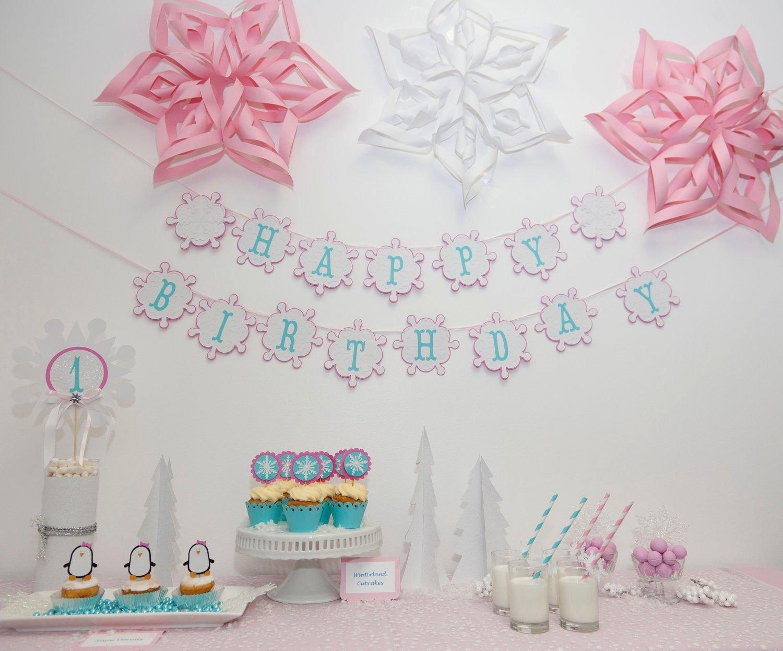 10 Fabulous Winter 1St Birthday Party Ideas