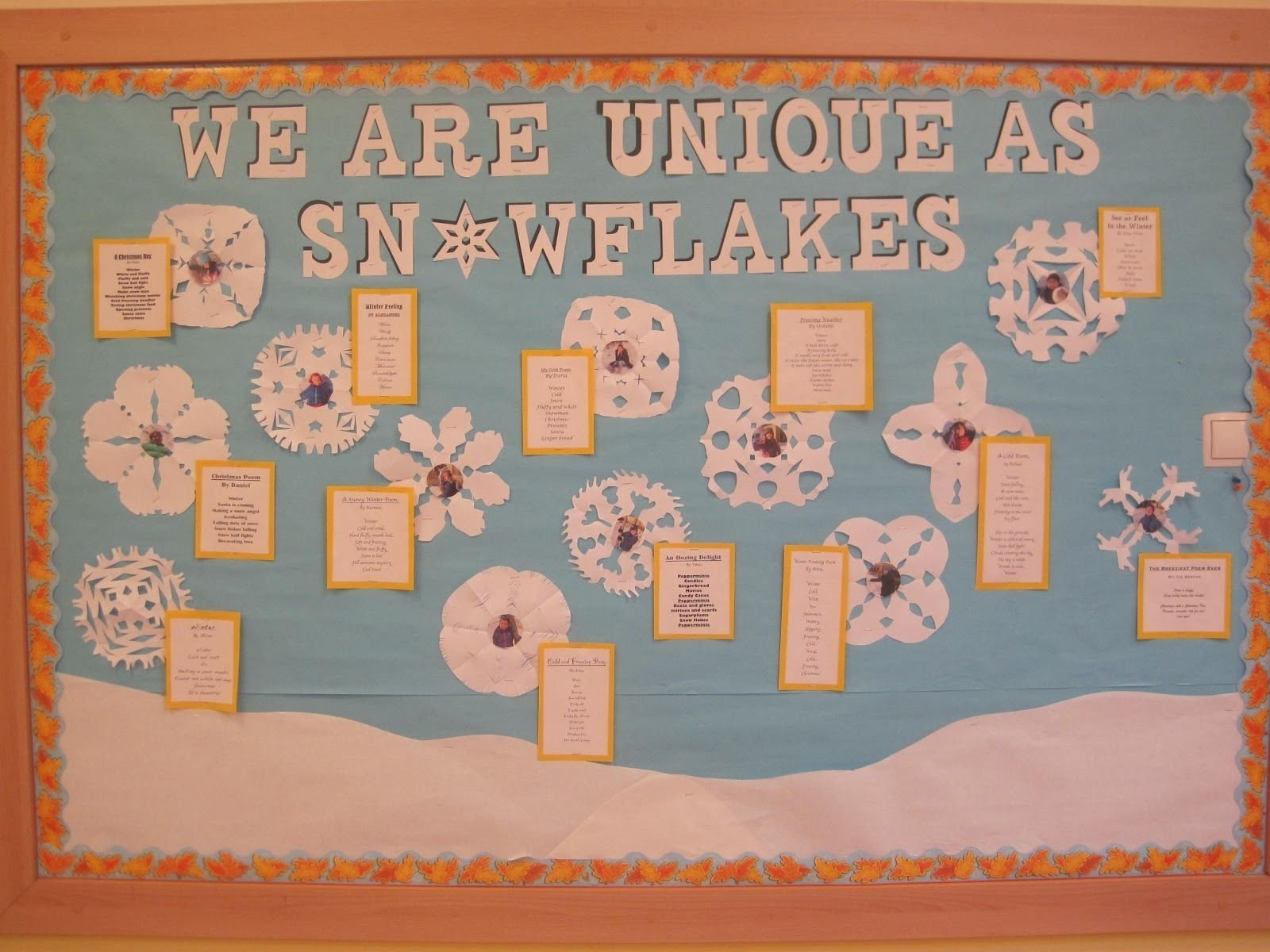 10 Ideal Bulletin Board Ideas For January winterbulletinboardideas the kids wrote winter poetry i used a 2021