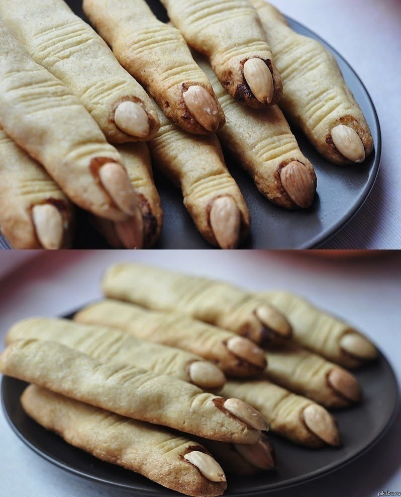 witch's finger cookies | food | pinterest | halloween foods, food