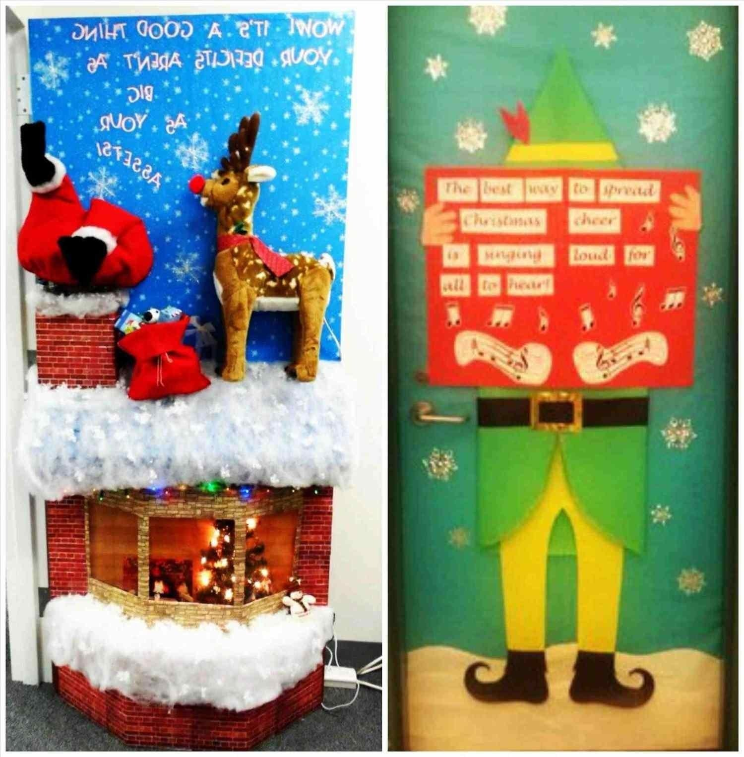 Door Decorations Christmas Contest: 10 Amazing Funny Christmas Door Decorating Contest Ideas
